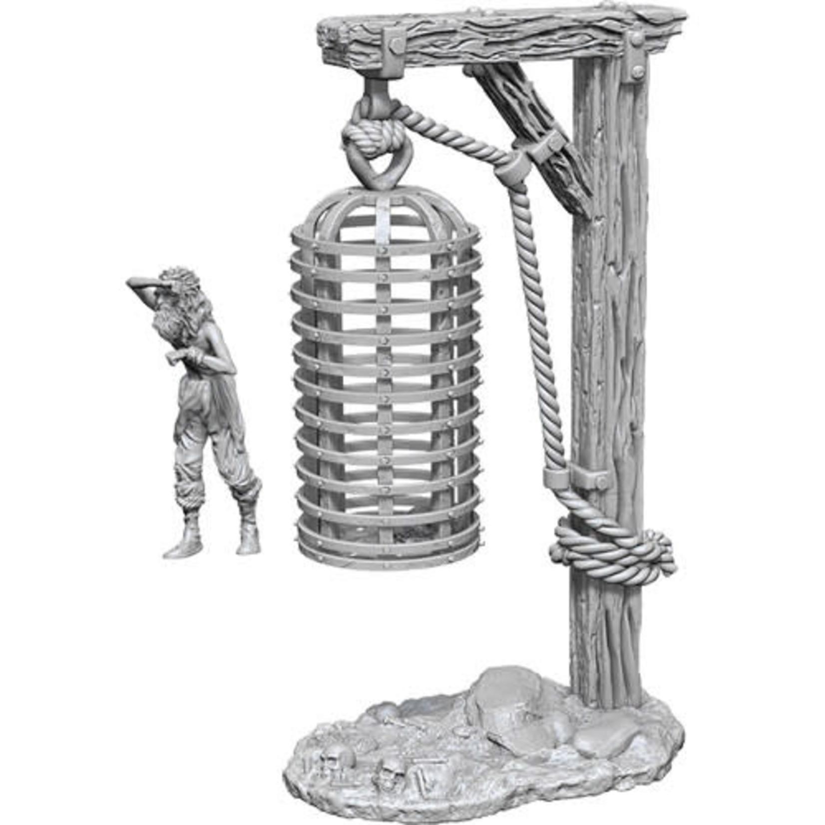 D&D Unpainted Minis: Hanging Cage (Wave 10)