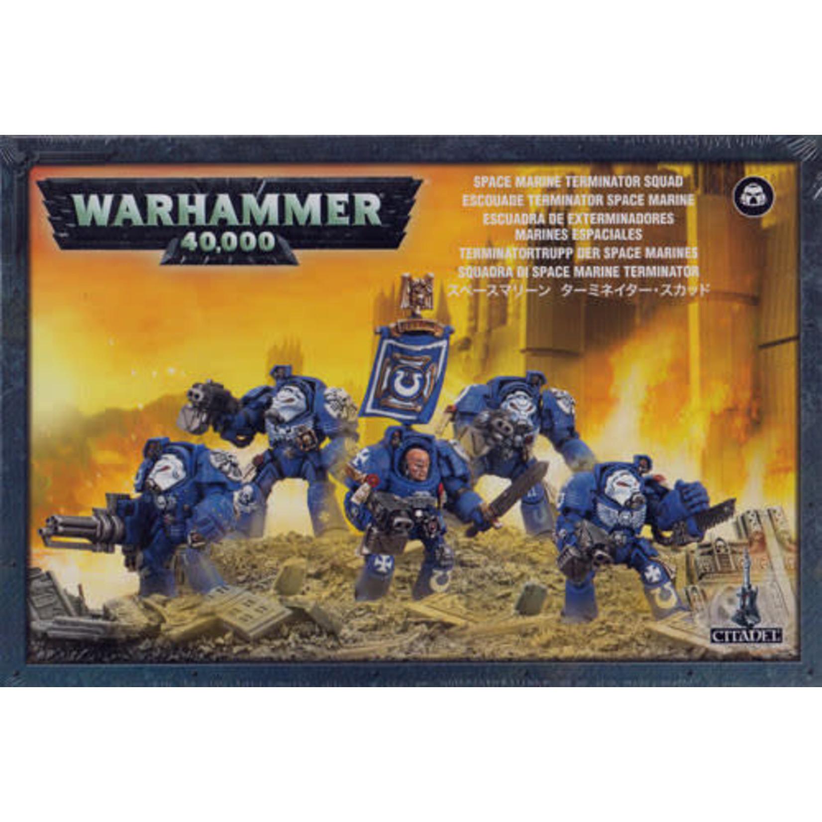 Space Marine Terminator Squad (40K)