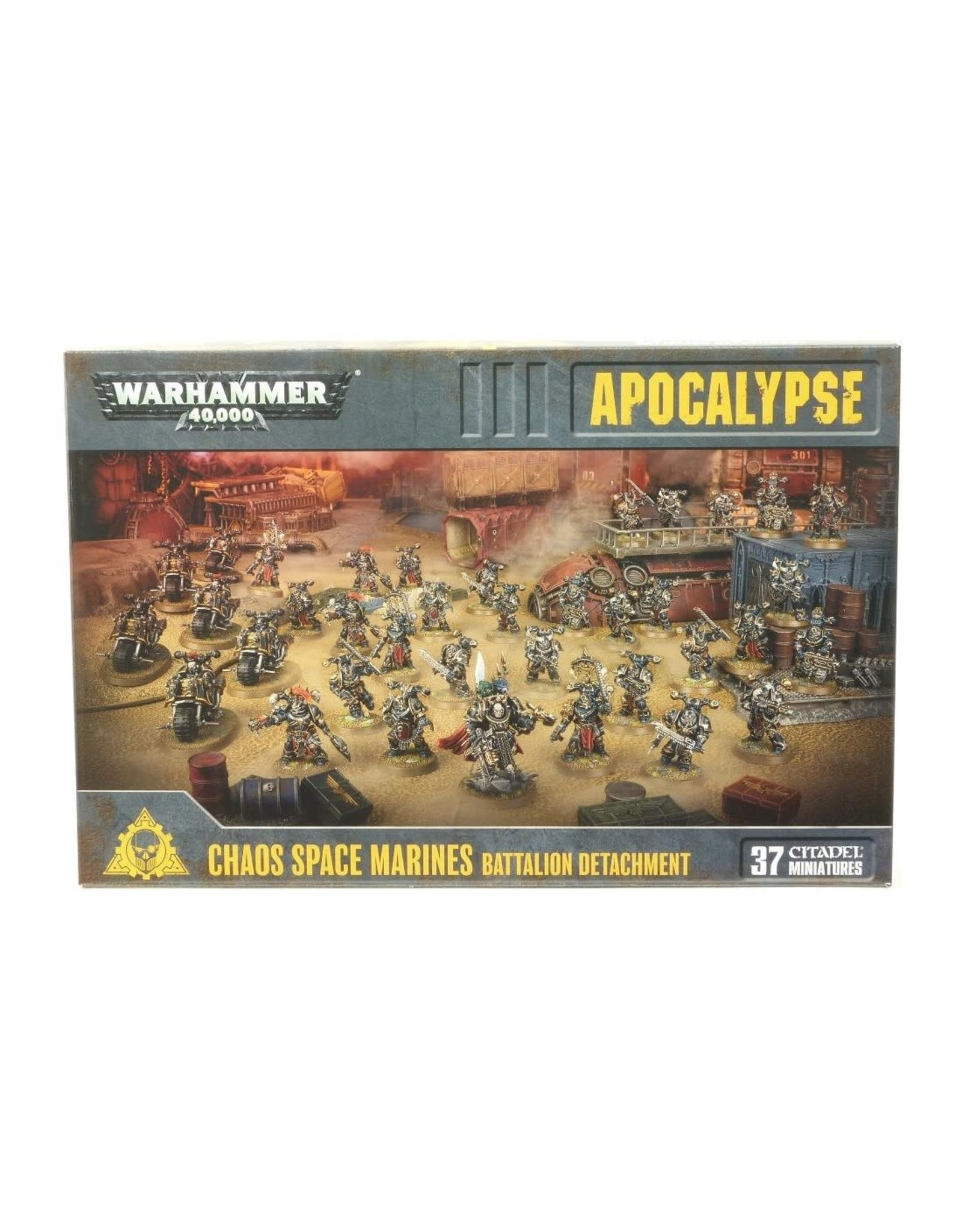 Choas Space Marines Battalion Detachment (40K)