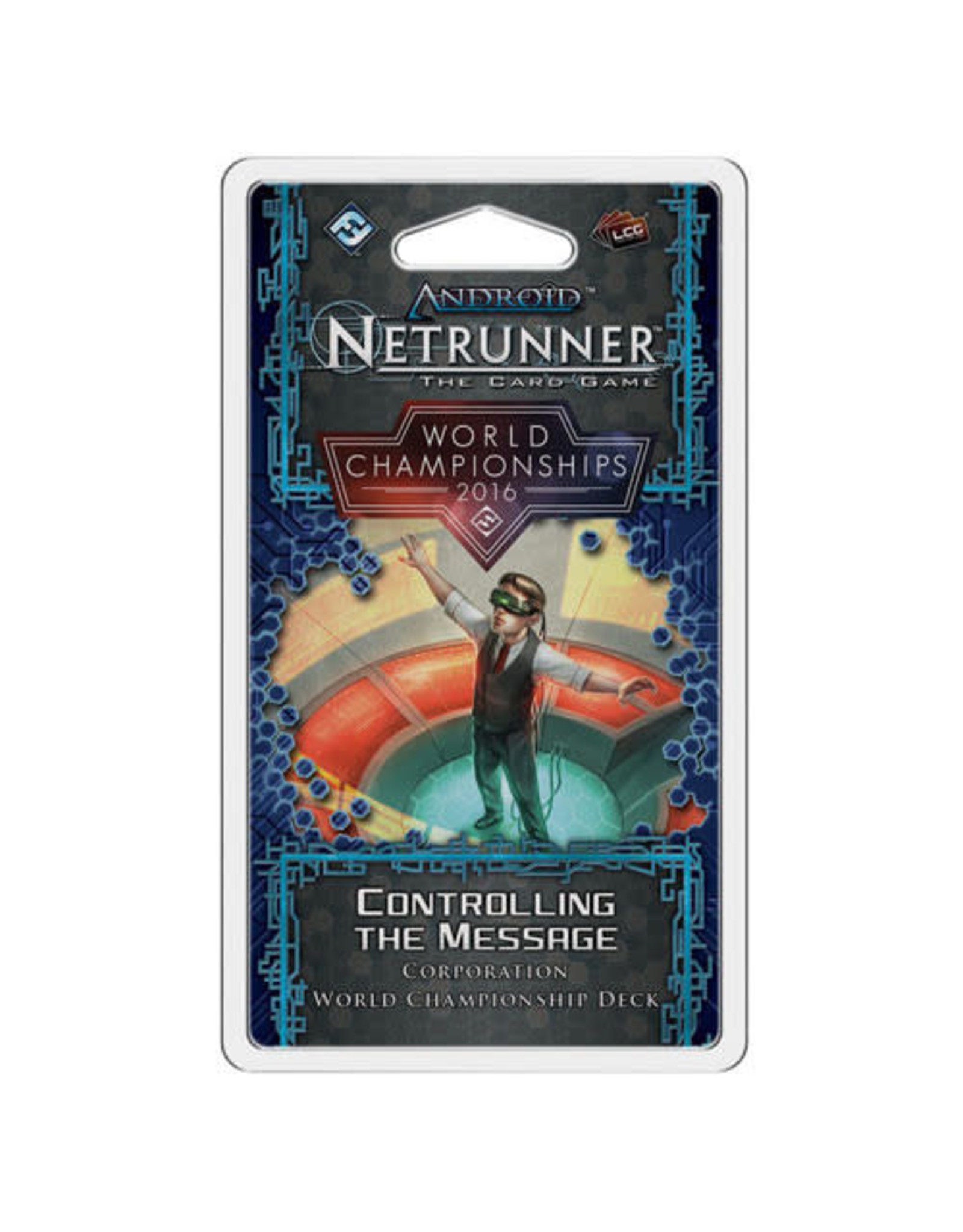 Android Netrunner 2016 World Champion Corps Deck