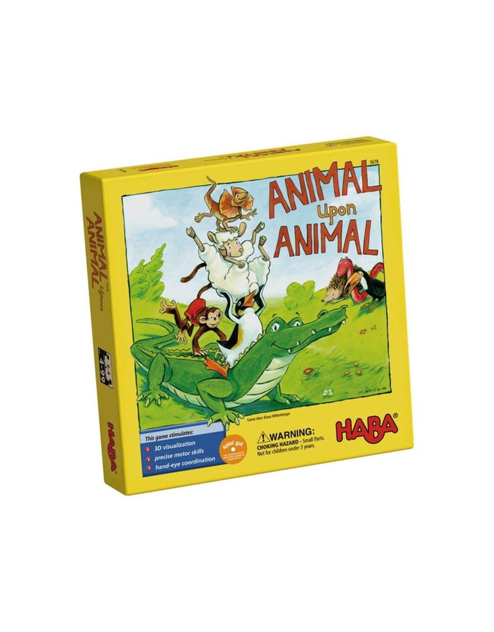 Animal Upon Animal Board Game