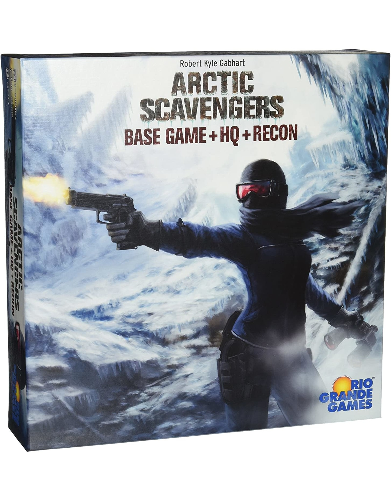 Arctic Scavengers Base Game with HQ and Recon Expansions Board Game