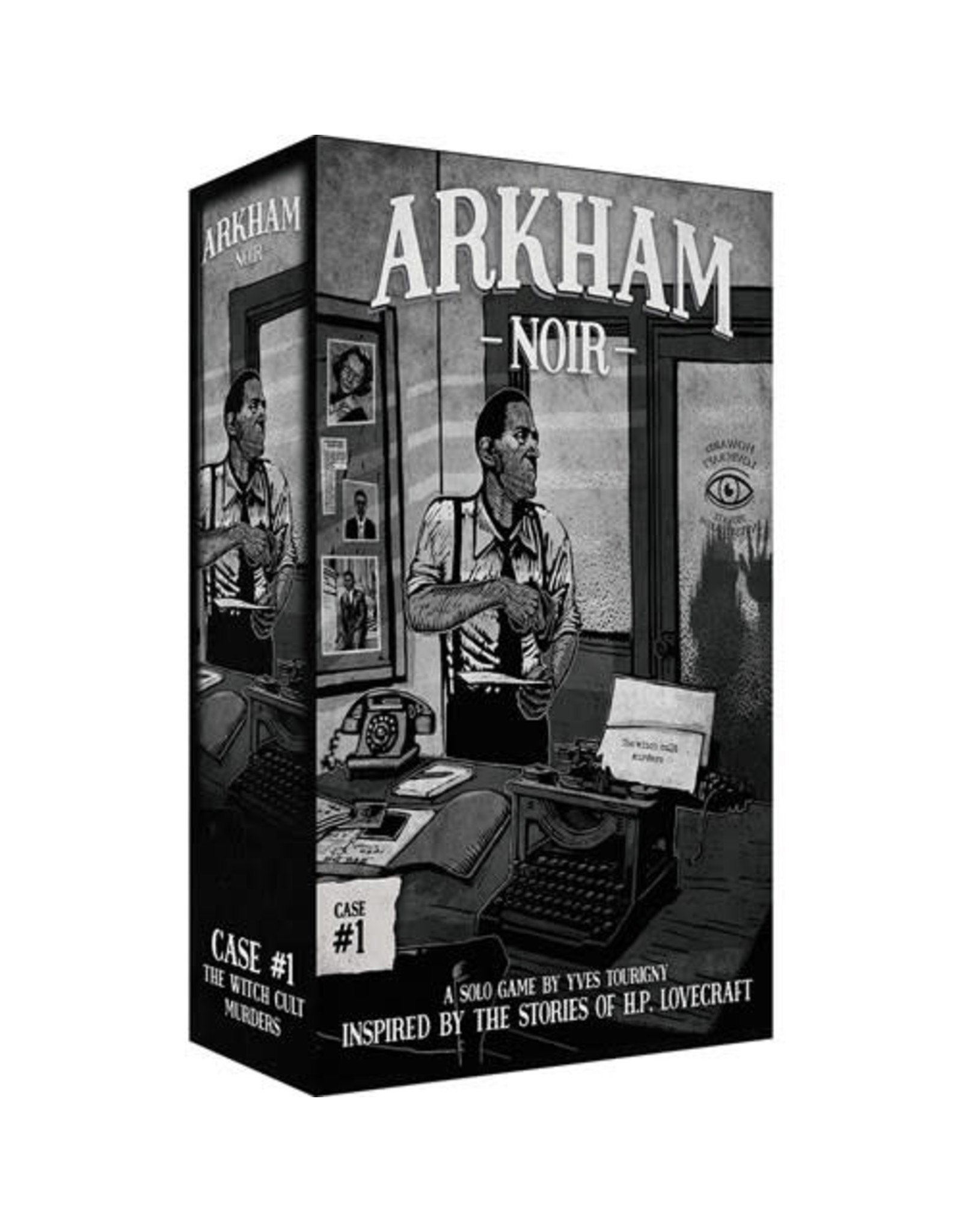 Arkham Noir: Case # 1 The Witch Cult Murders Board Game