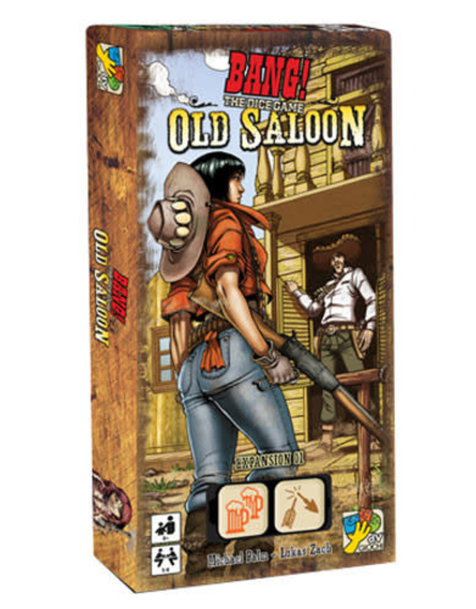 Bang! Dice: The Old Saloon Expansion