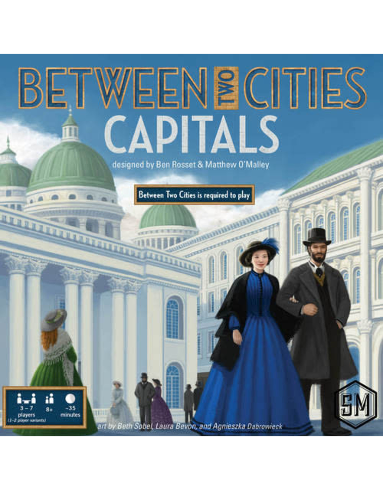 Between Two Cities Capitals Board Game