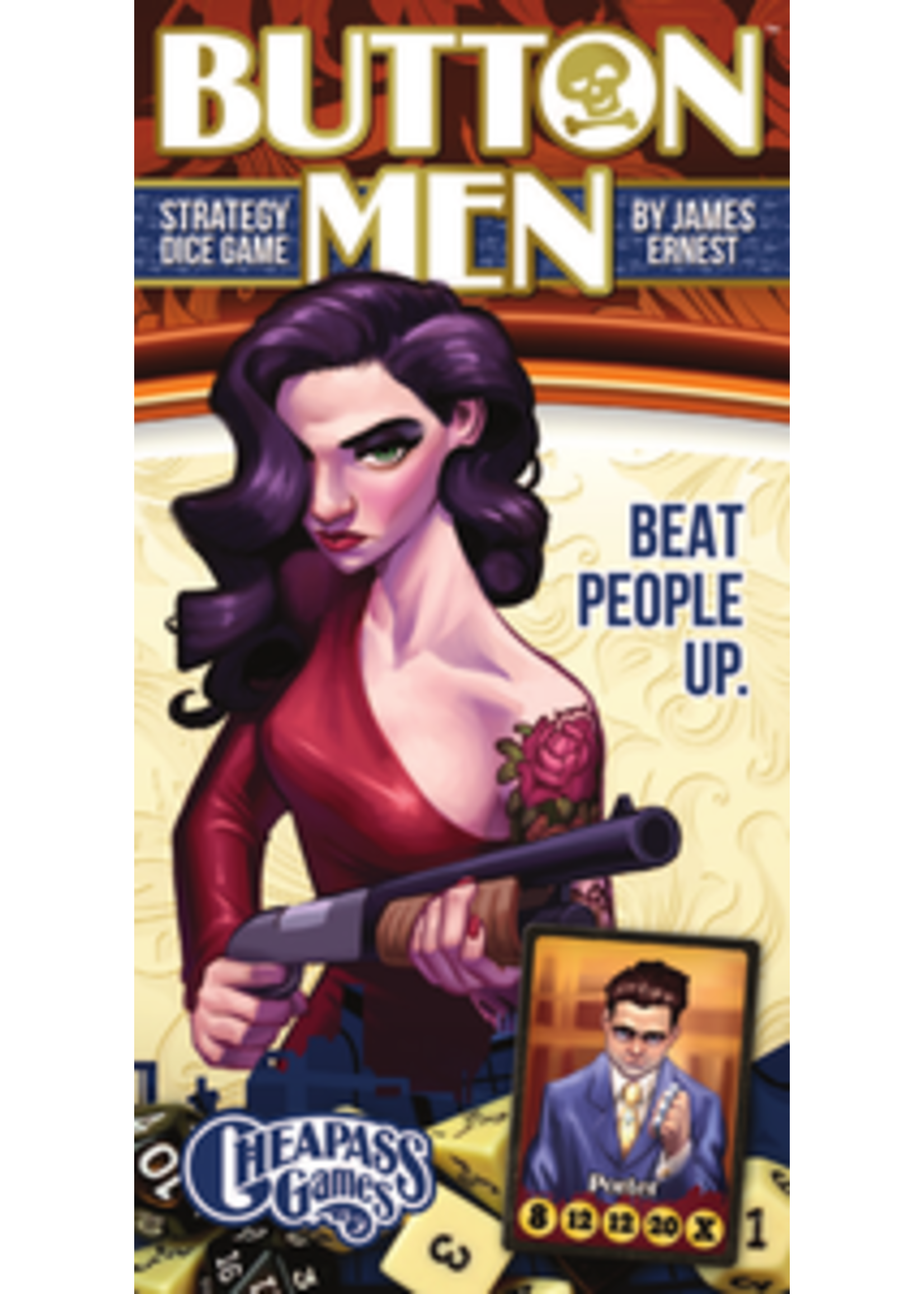 Button Men Board Game
