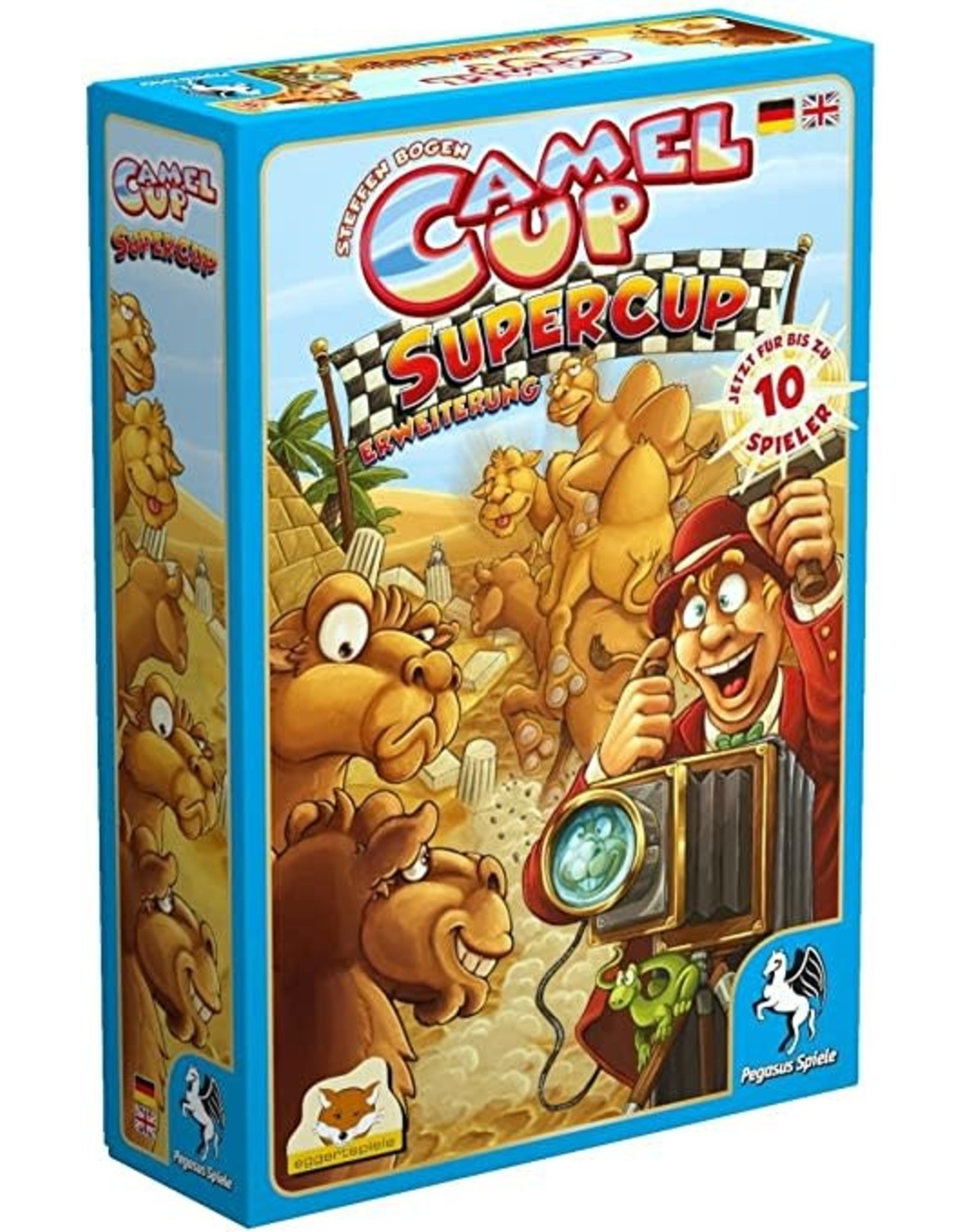 Camel Up Supercup Board Game