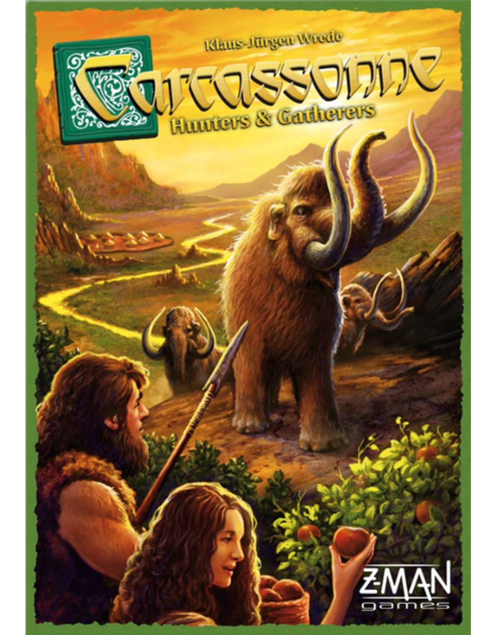 Carcassonne Hunters & Gatherers Board Game