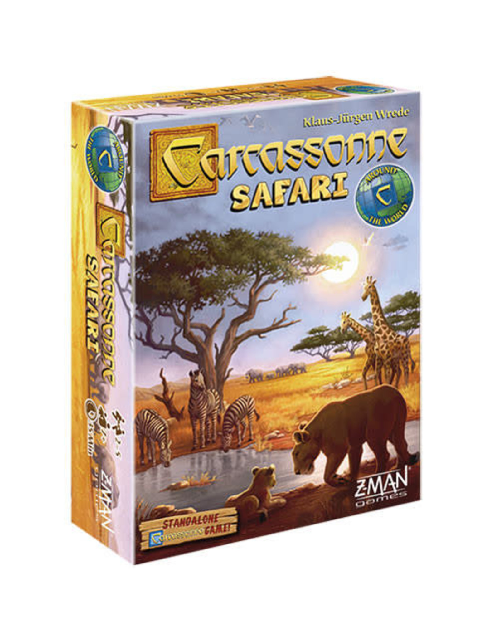 Carcassonne Safari Board Game (Standalone)
