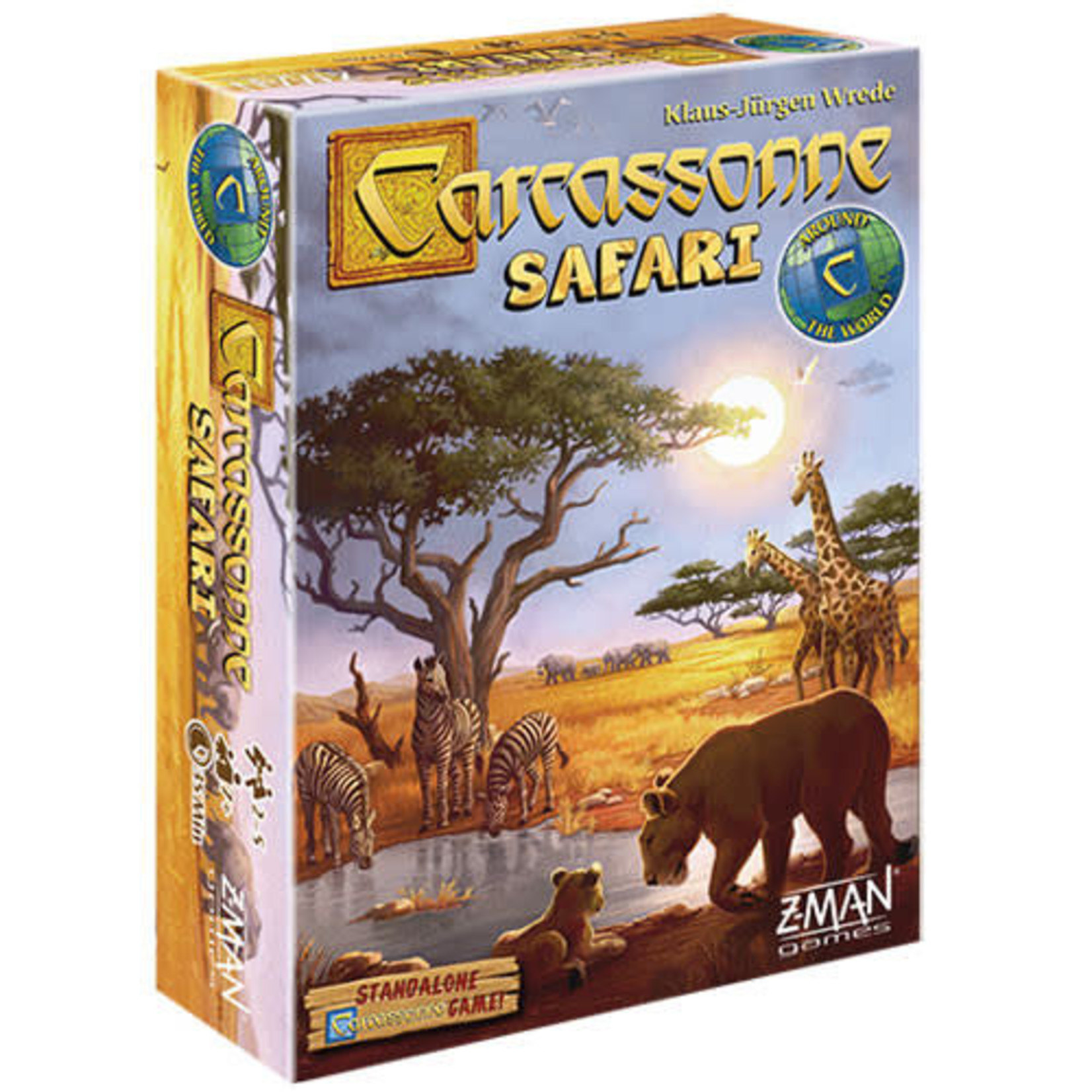 Carcassonne Safari Board Game (Standalone)