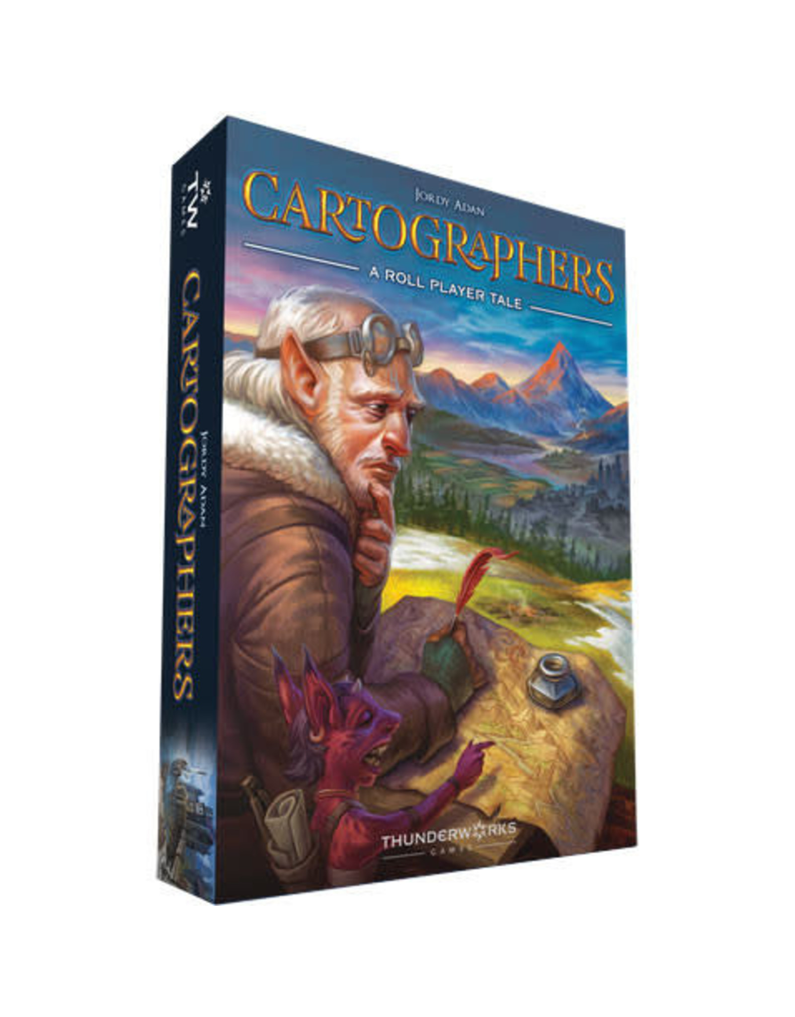 Cartographers: A Roll Player Tale Board Game