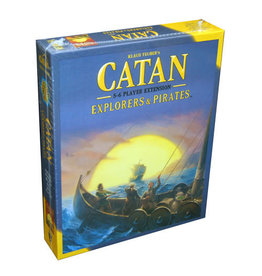 Catan Explorers & Pirates 5-6 Player Expansion Board Game