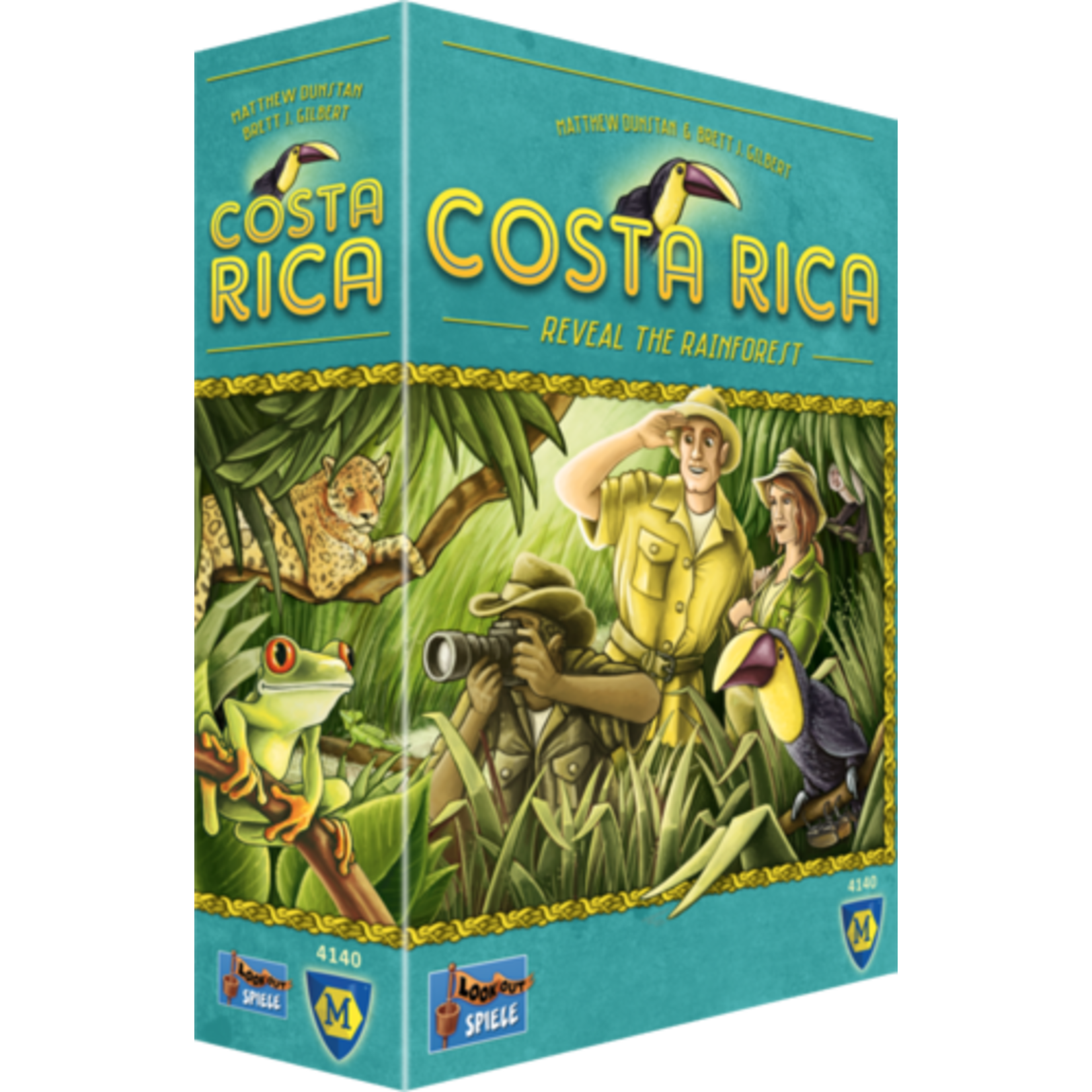 Costa RIca Board Game