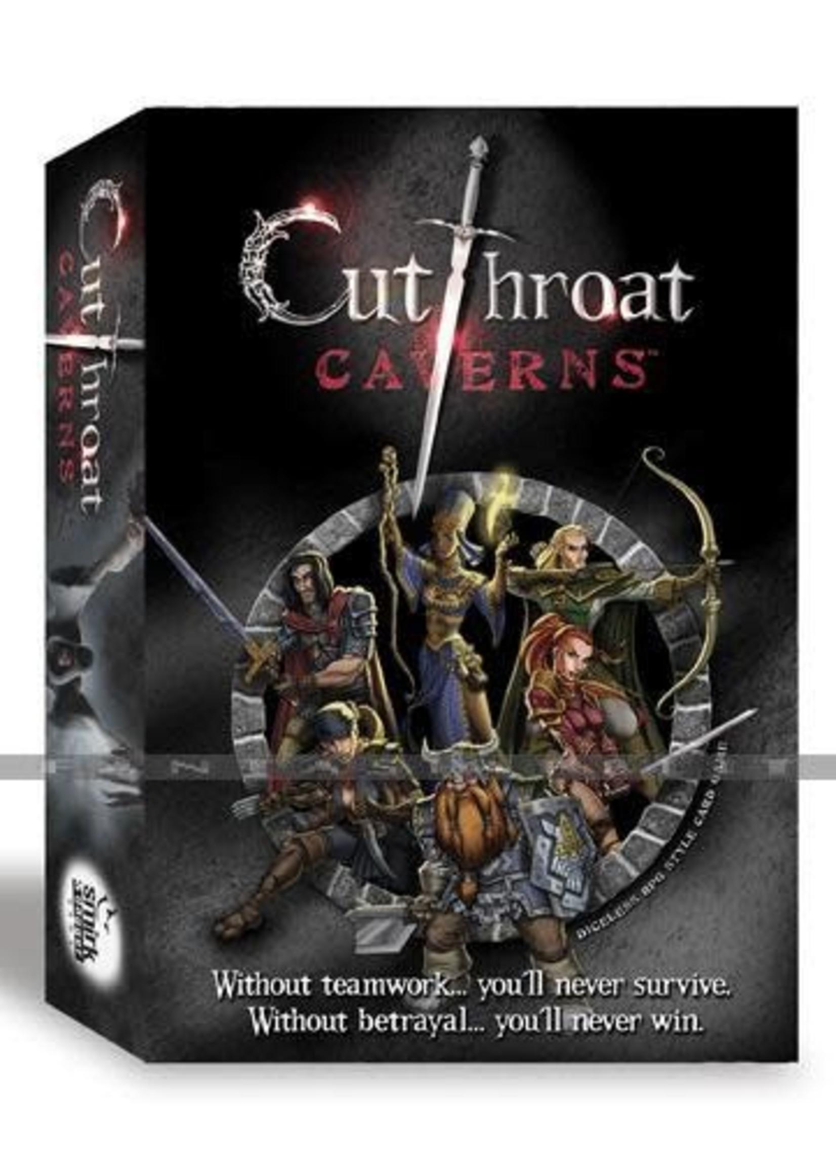 Cutthroat Caverns Board Game