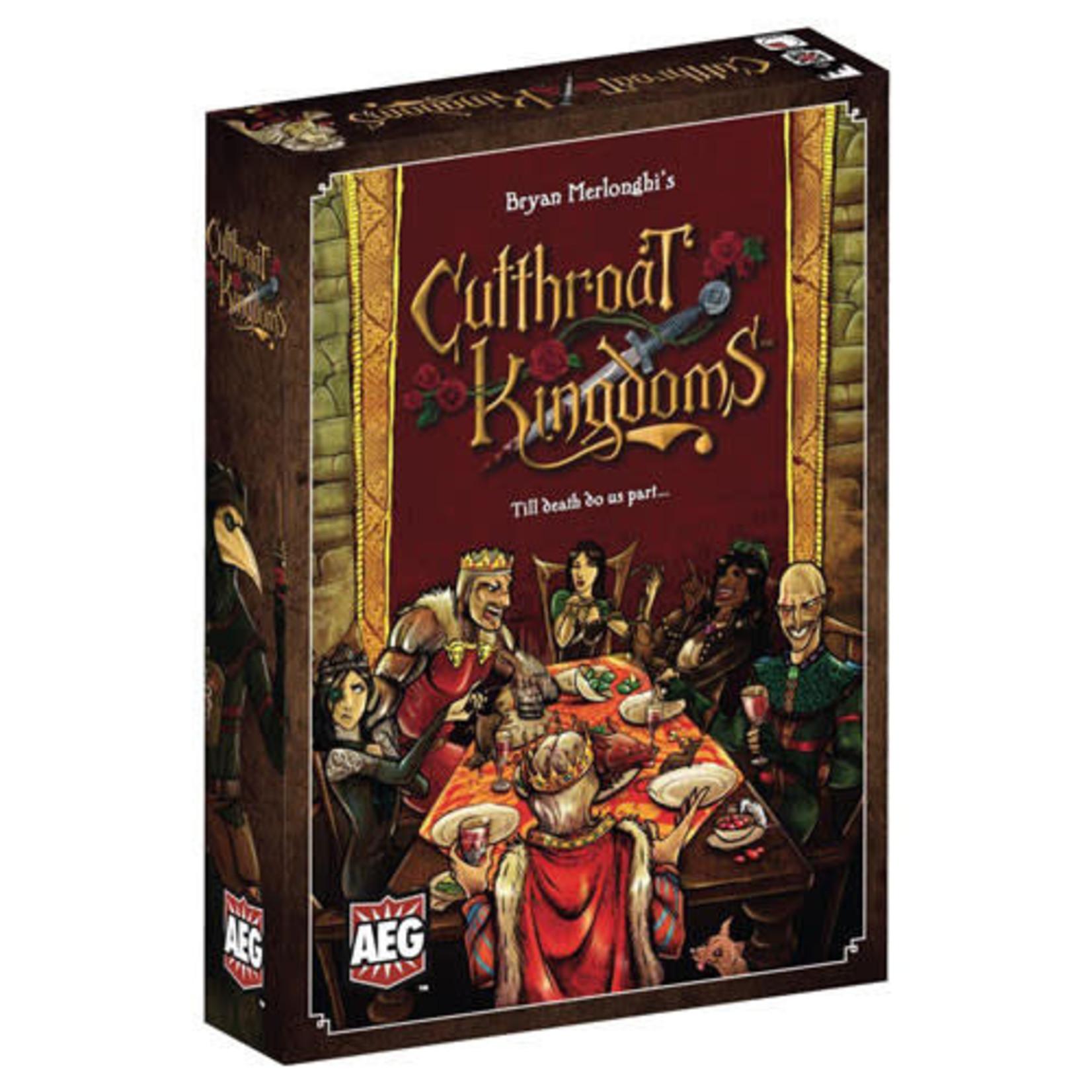 Cutthroat Kingdoms board Game