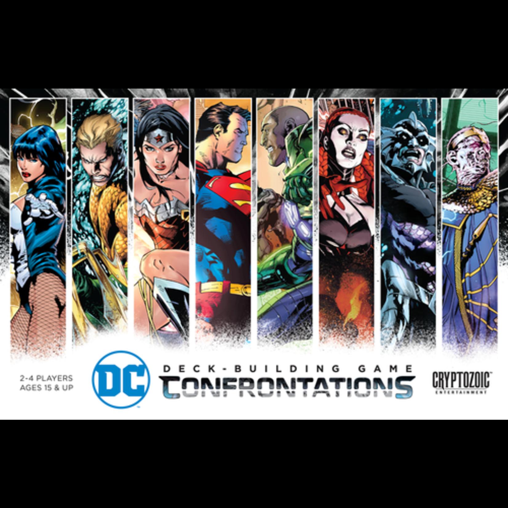 DC Comic Deck-Building Game Confrontations