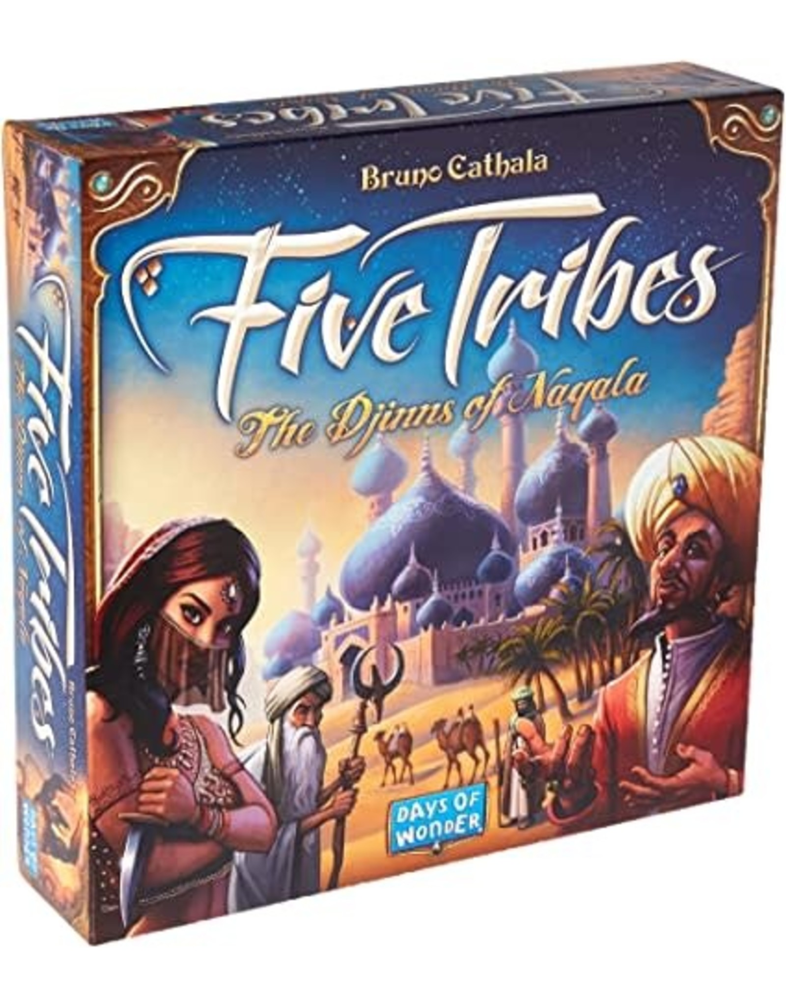 Five Tribes Board Game