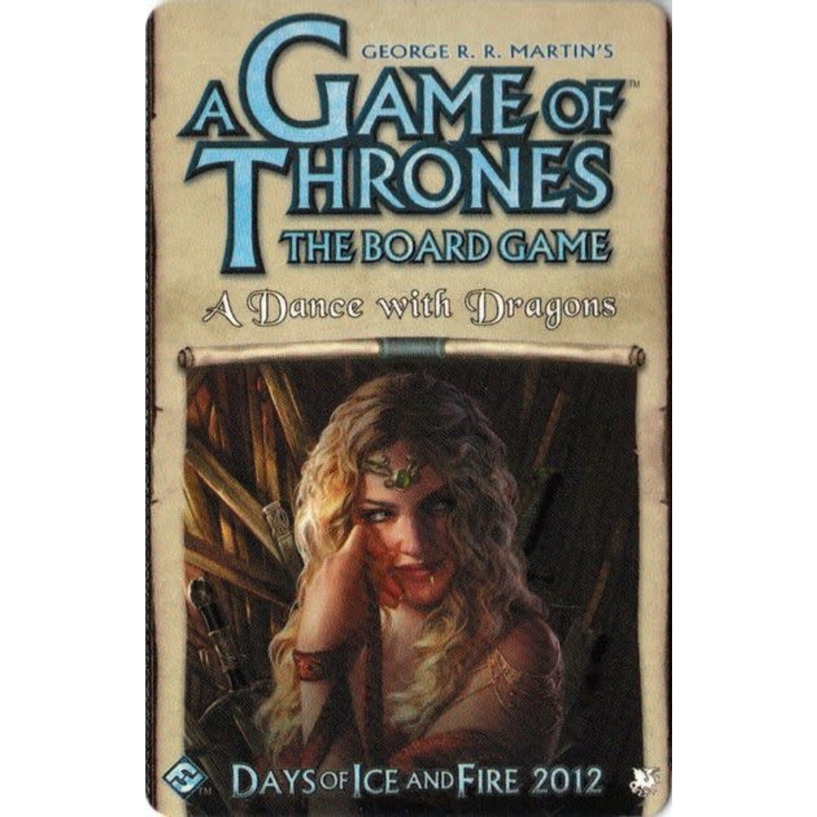 Game of Thrones Board Game: A Dance With Dragons Expansion