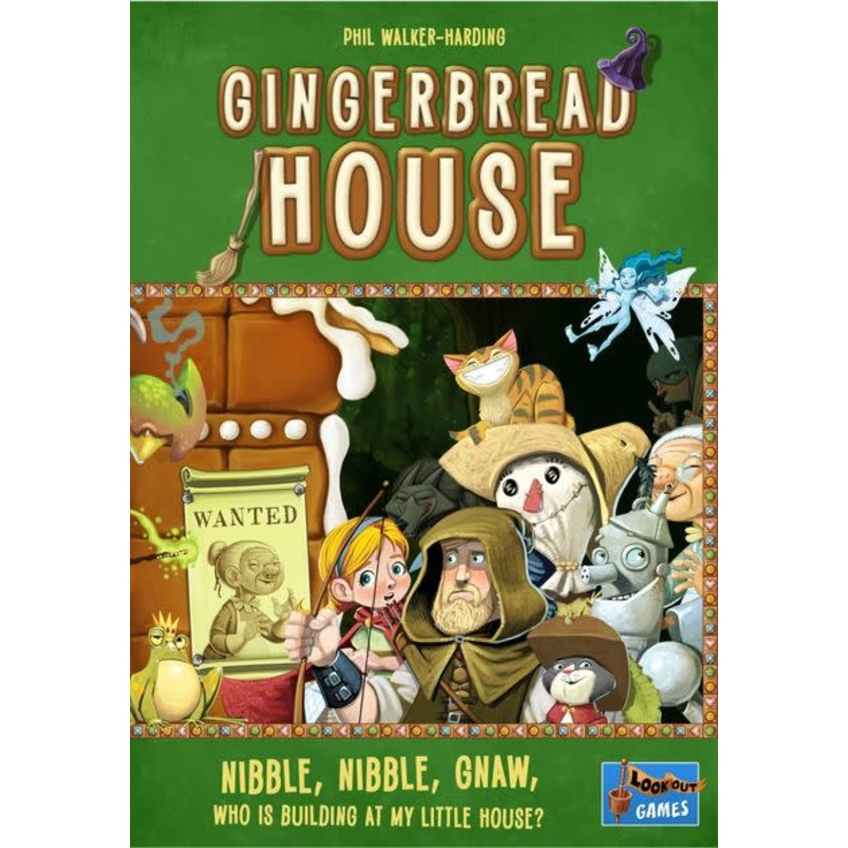 Gingerbread House Board Game