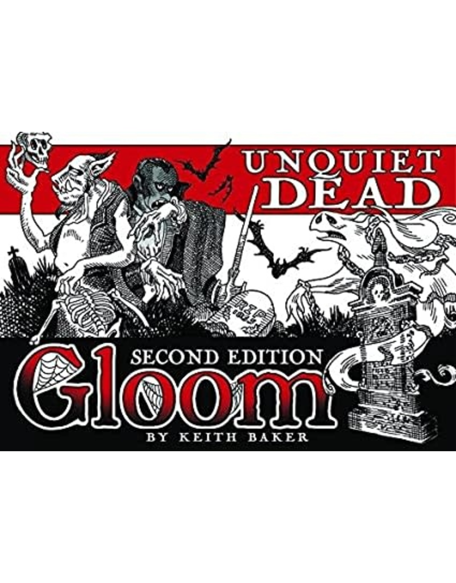 Gloom Unquiet Dead Expanision