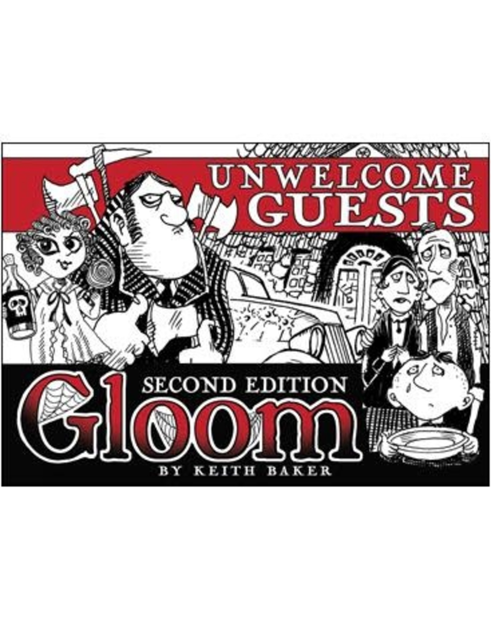 Gloom Unwelcome Guests Expansion