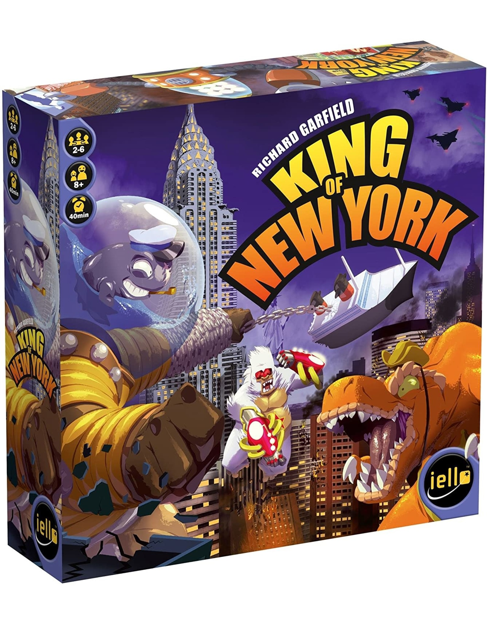 King of New York Board Game
