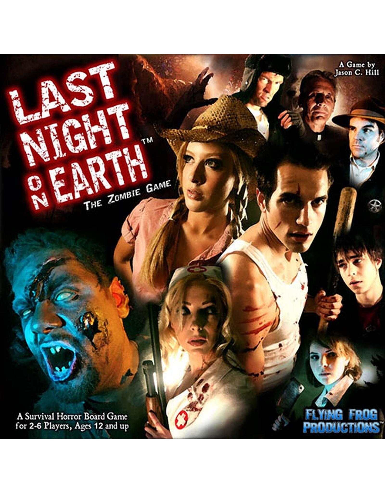 Last Night on Earth Board Game