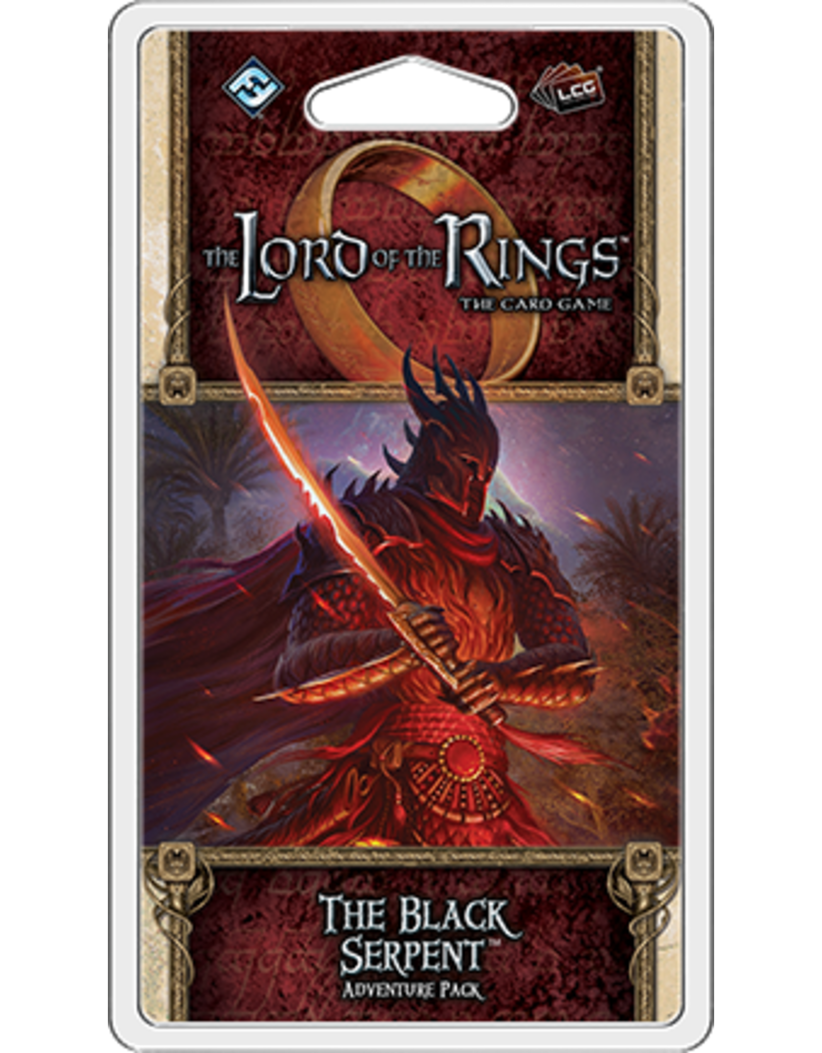 Lord of the Rings LCG The Black Serpent Adventure Pack