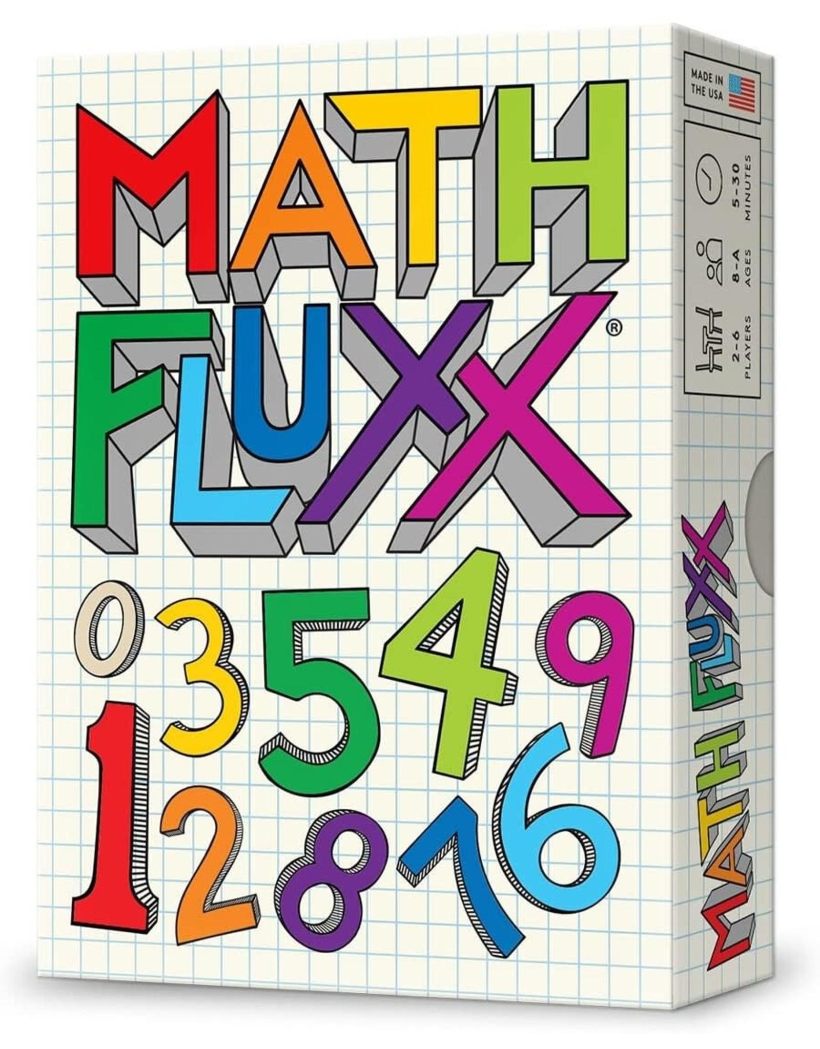 Math Fluxx Board Game