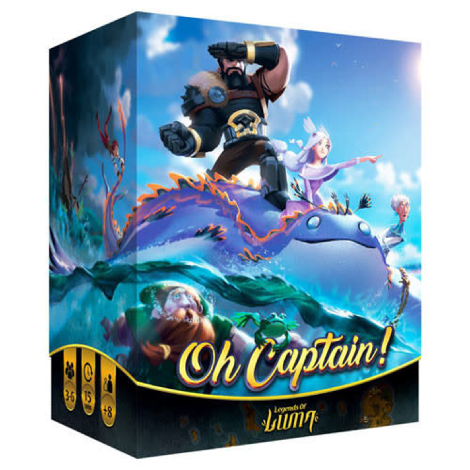 Oh Captain! Board Game