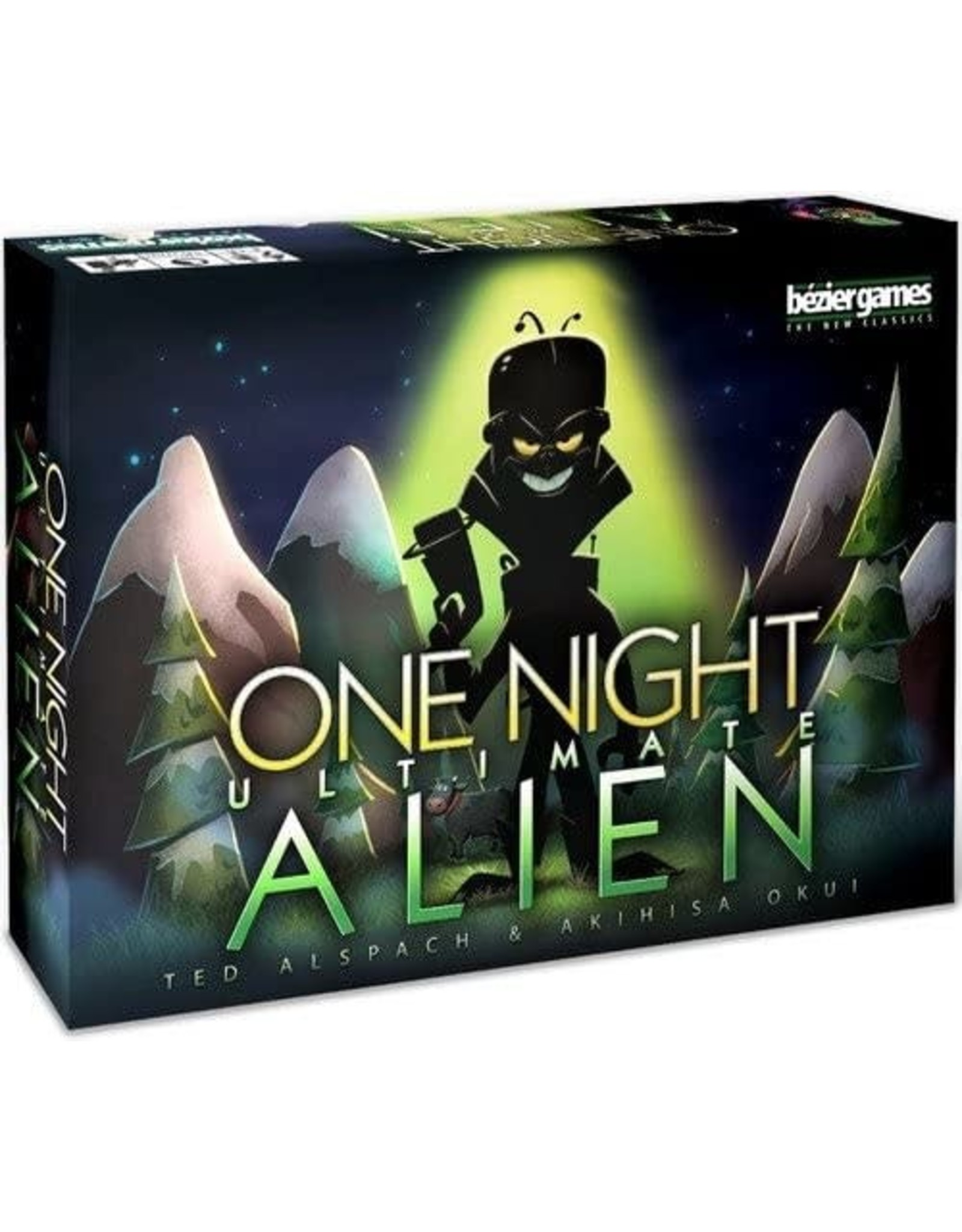 One Night Ultimate Alien Board Game