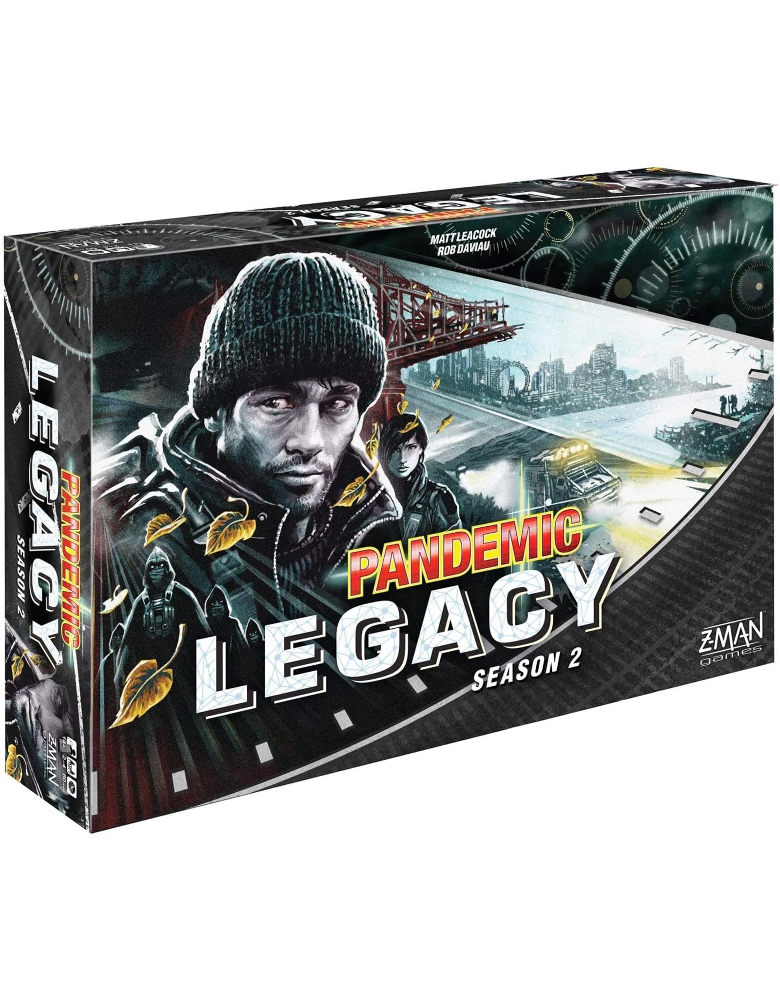 Pandemic Legacy: Season 2 Black Board Game