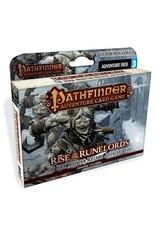 Pathfinder Adventure Card Game Hook Mountain Massacre Adventure Deck