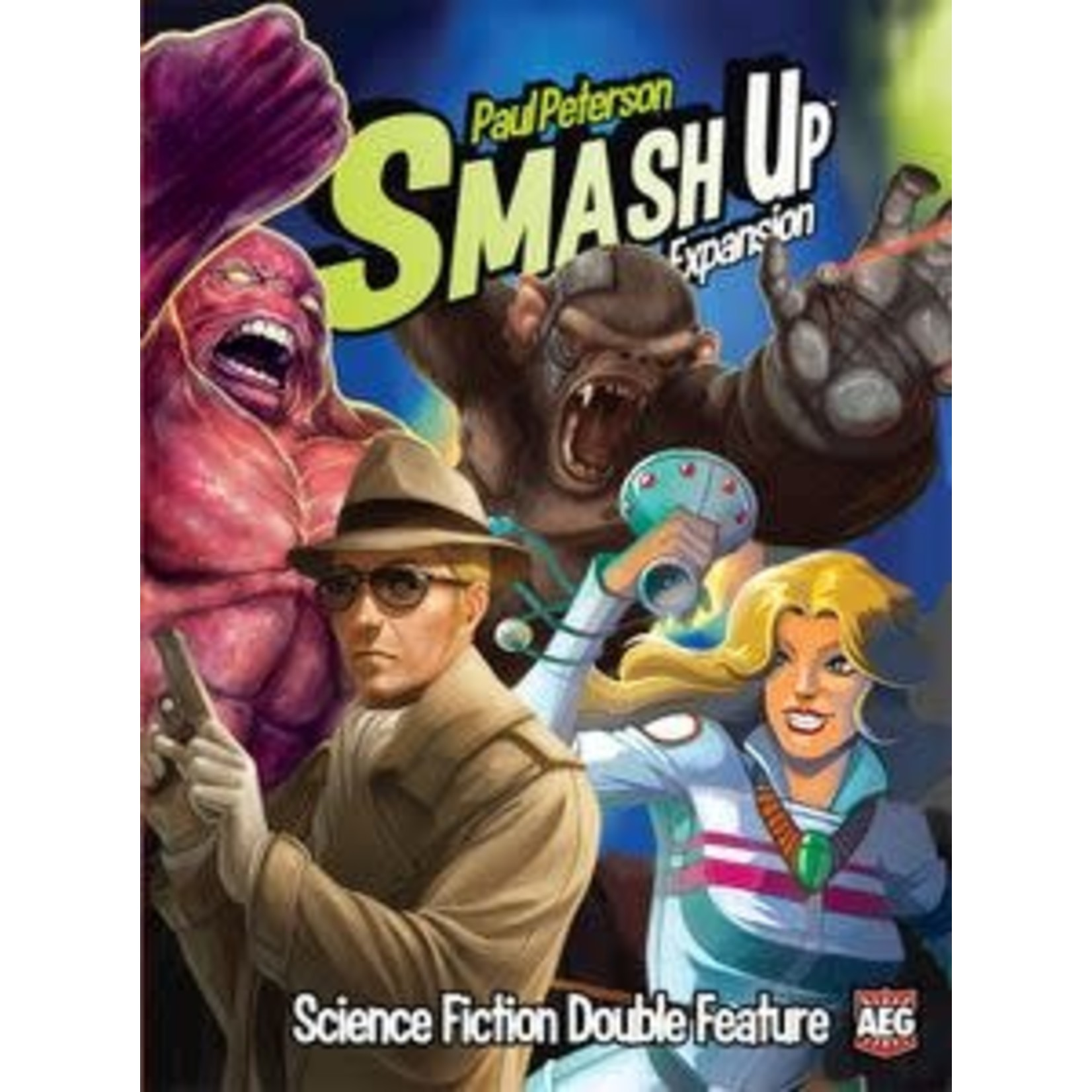 Smash Up: Science Fiction Double Feature Expansion Board Game