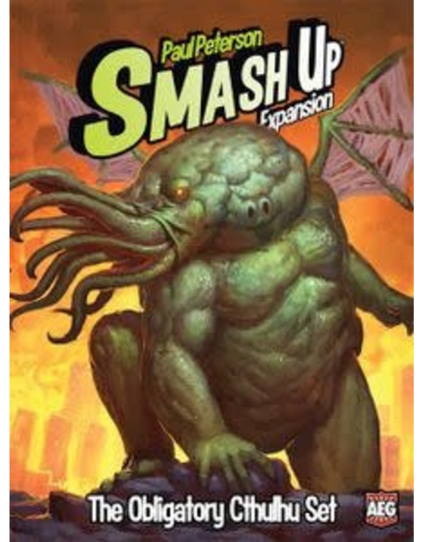 Smash Up: The Obligatory Cthulhu Expansion Board Game