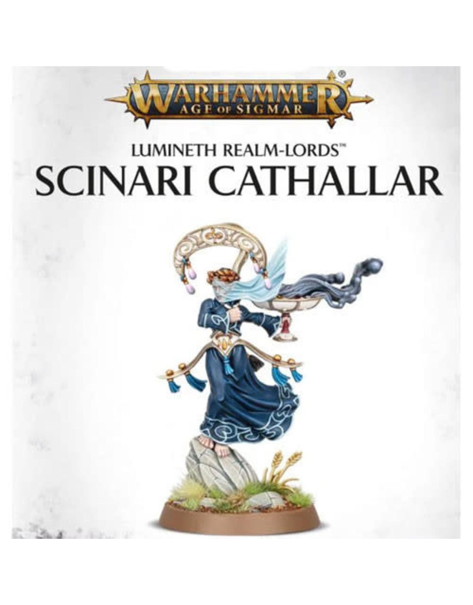 Lumineth Realm Lords Scinari Cathallar (AOS)