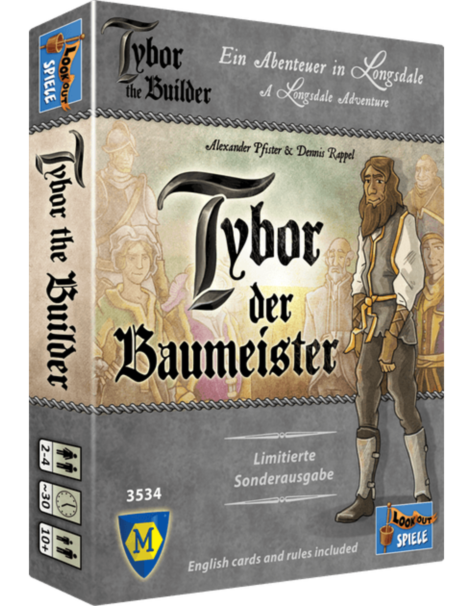 Oh My Goods! Tybor the Builder Expansion Board Game