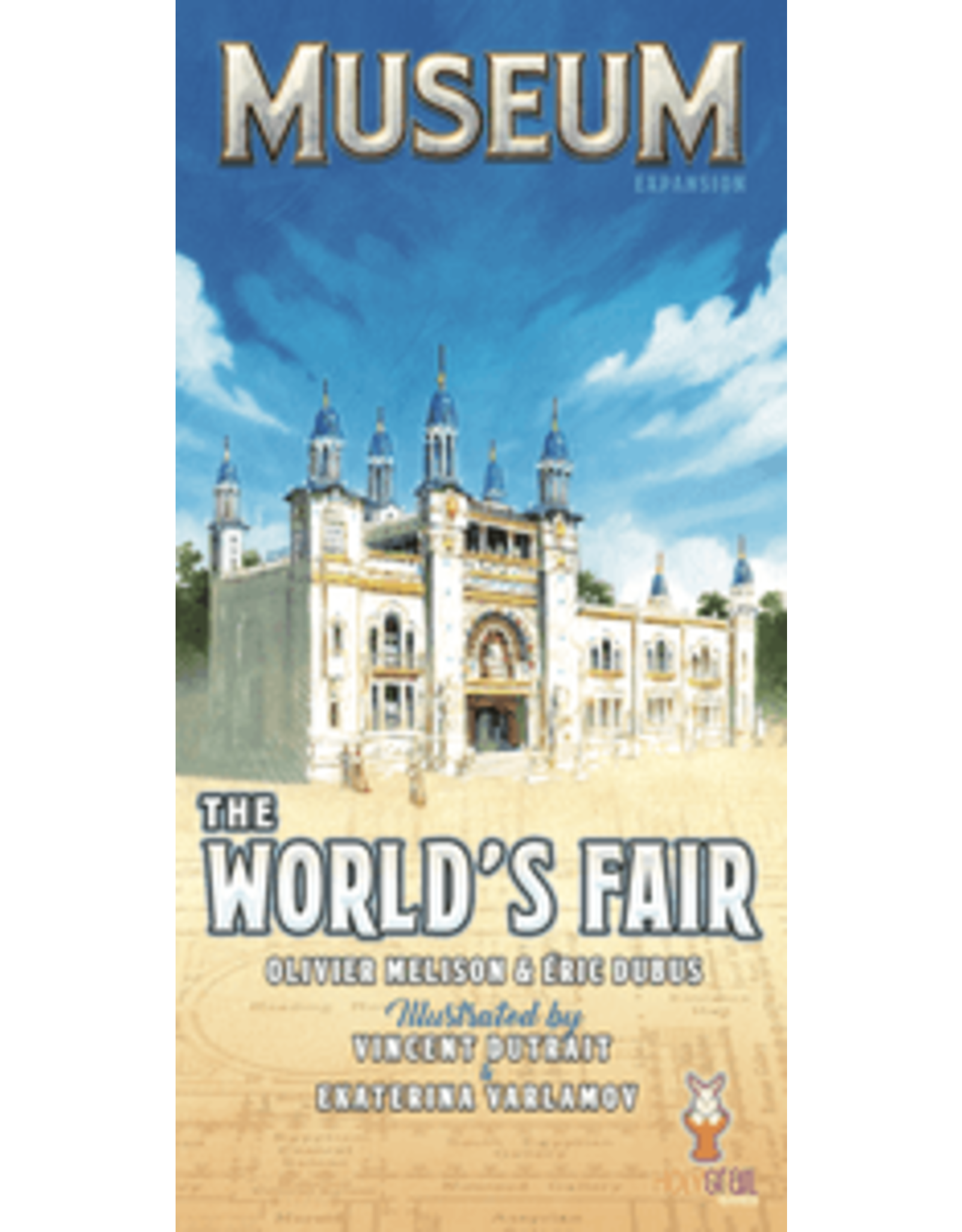 Museum World's Fair Expansion Board Game