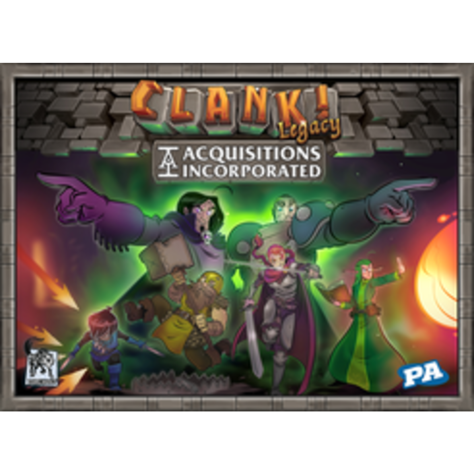Clank! Legacy Acquisitions Incorporated Upper Managment Pack