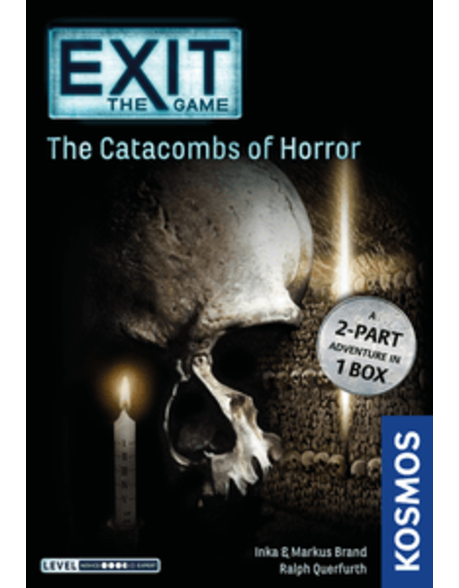 Exit: The Catacombs of Horror Board Game