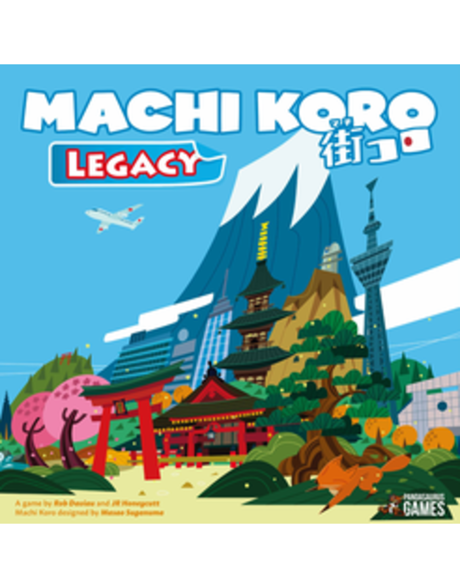 Machi Koro Legacy Board Game