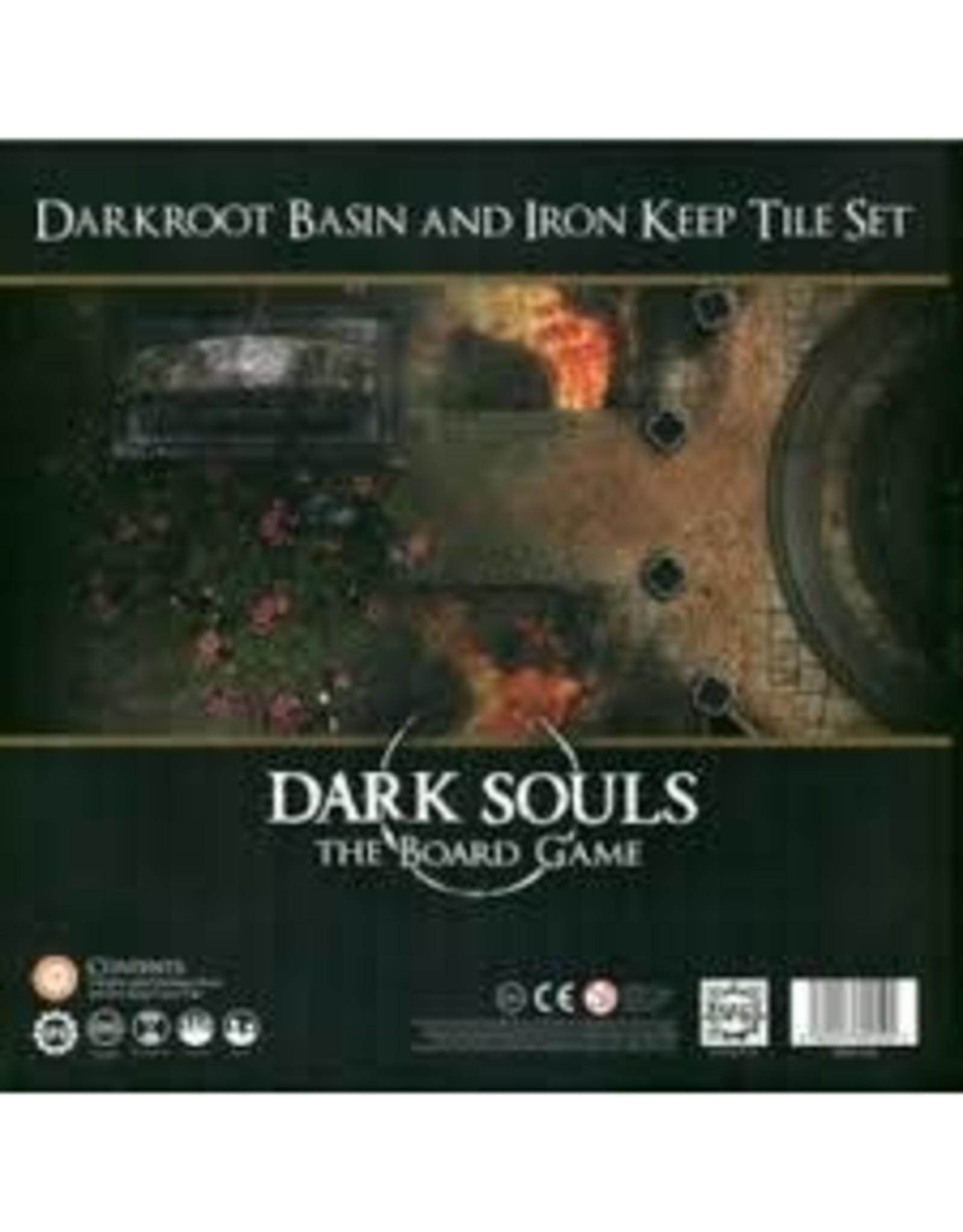 Dark Souls Board Game: Darkroot Basin & Iron Keep Tile Set