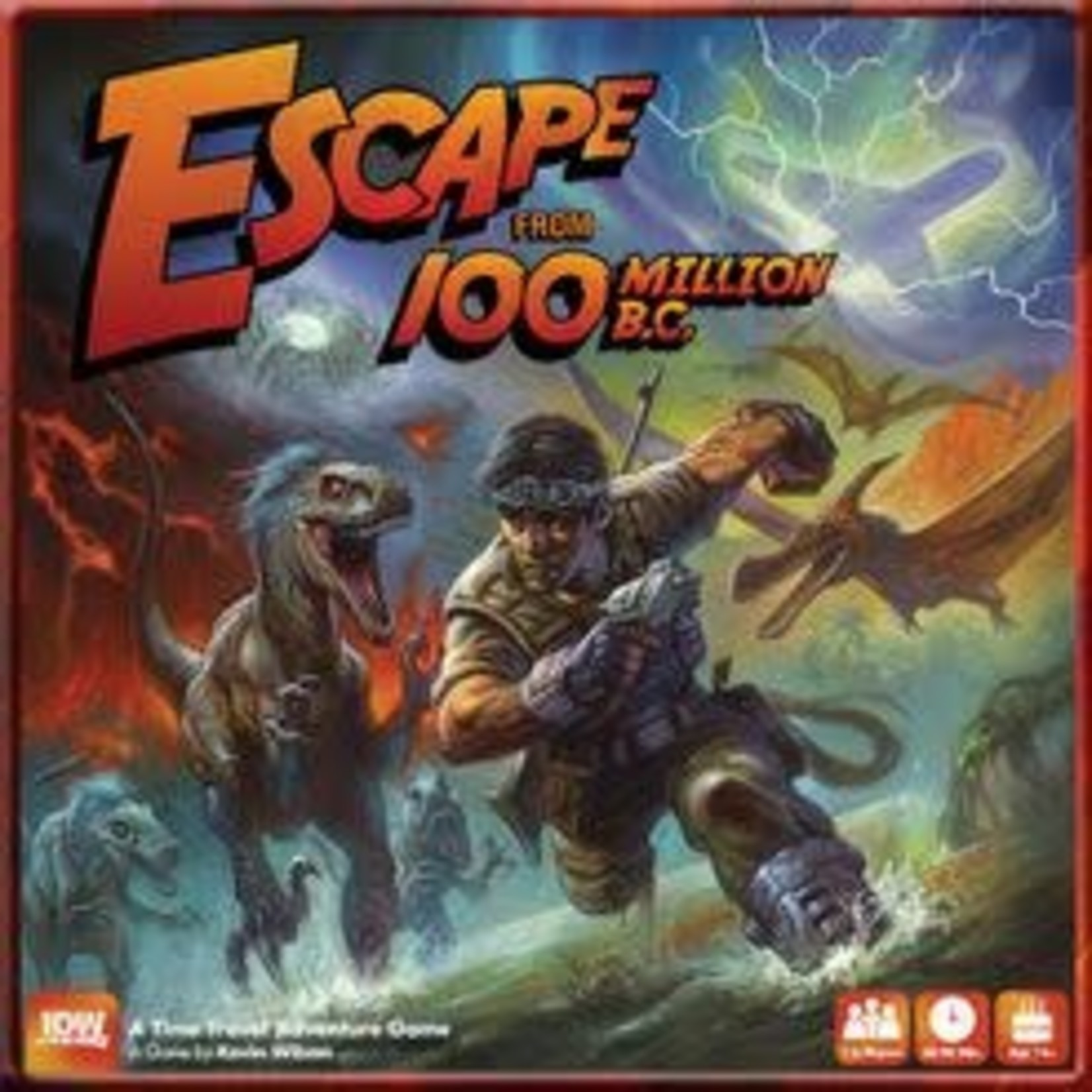 Escape From 100 Million BC Board Game