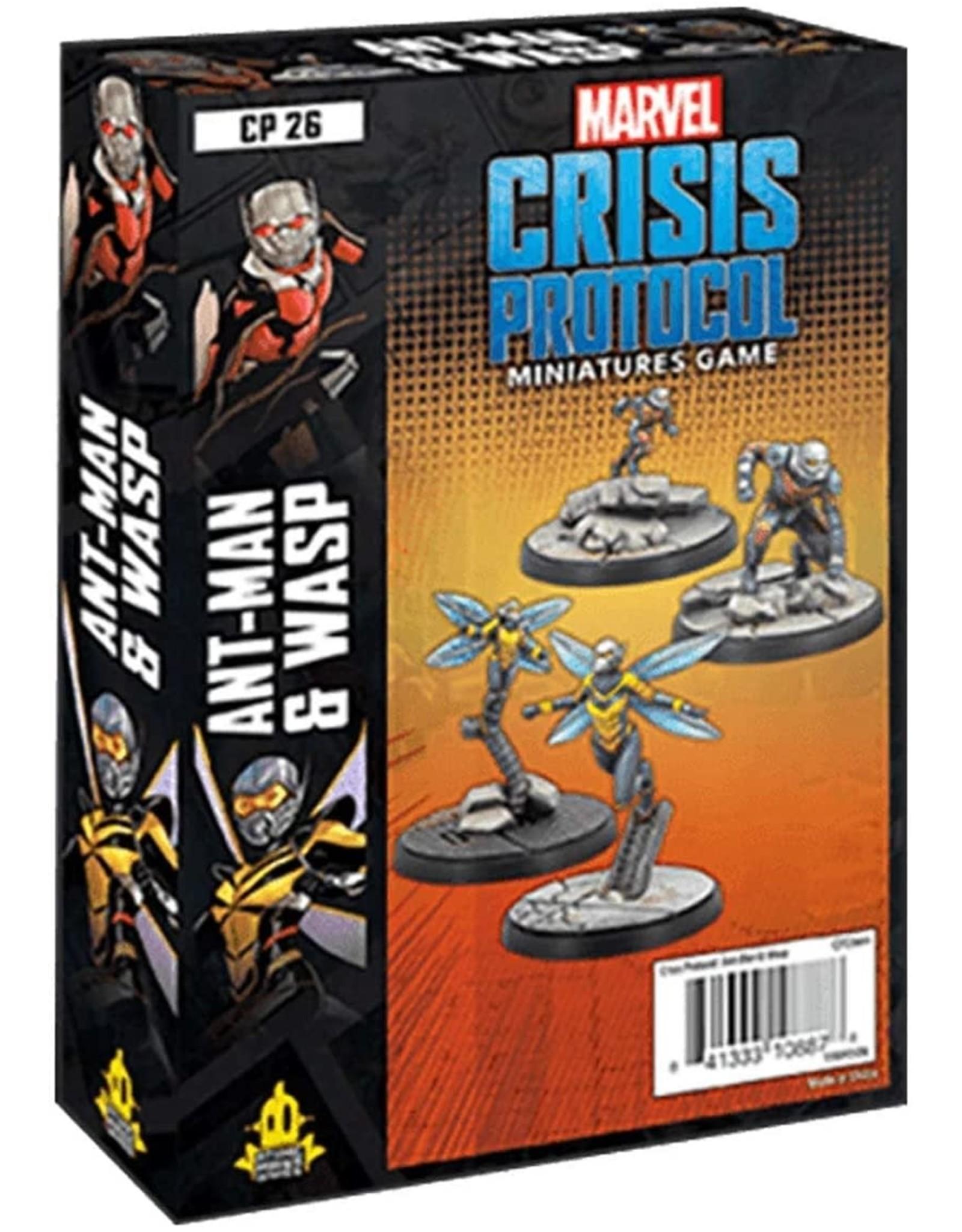 Marvel Crisis Protocol - Ant Man & Wasp