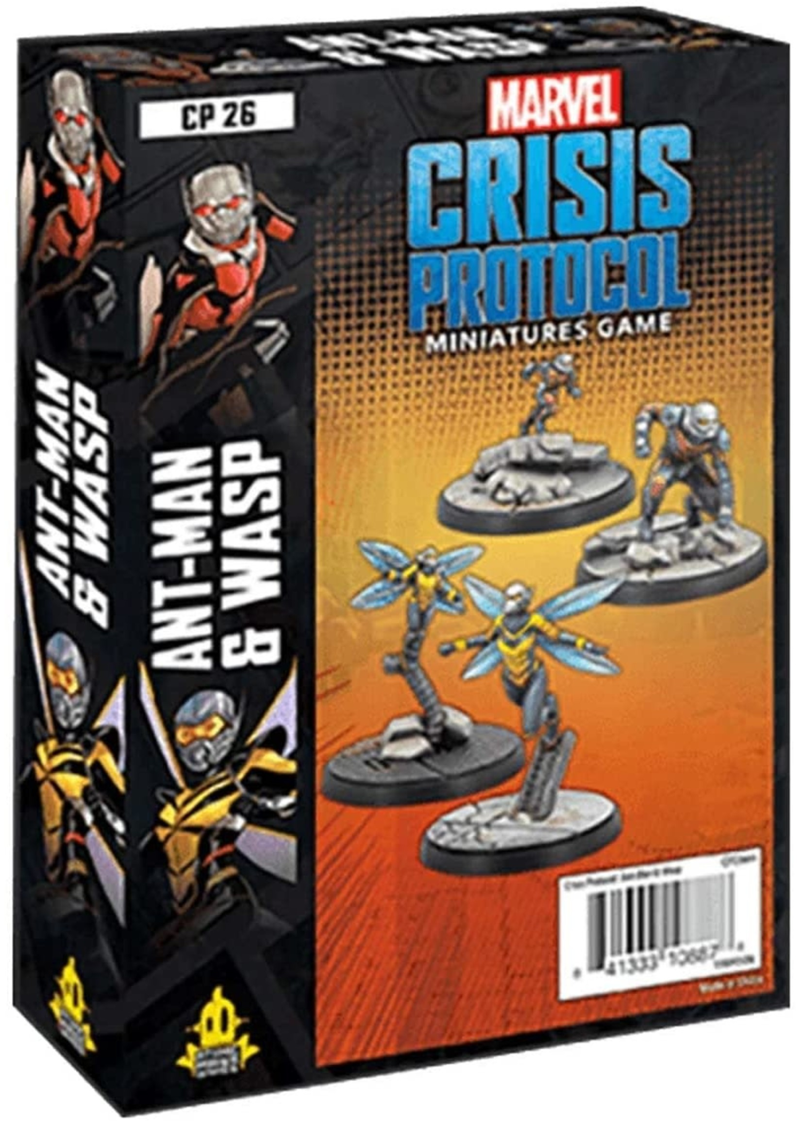 Marvel Crisis Protocol - Ant Man & Wasp