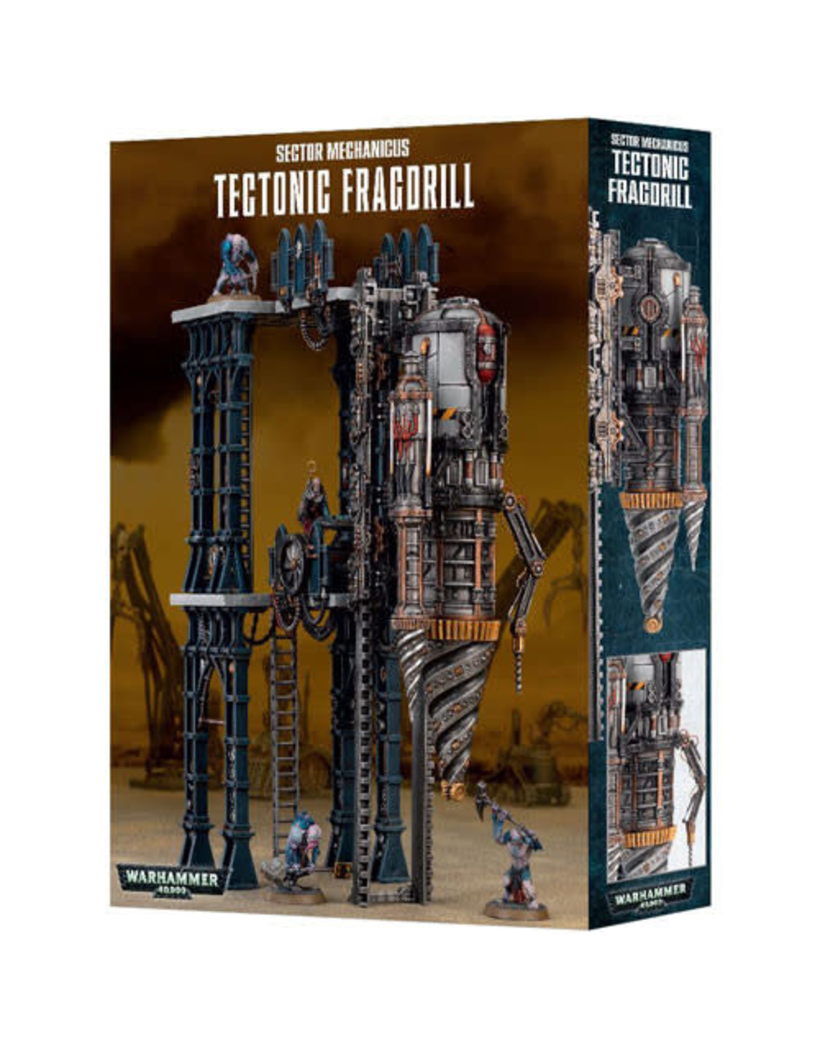 Sector Mechanicus Tectonic Fragdrill (40K)