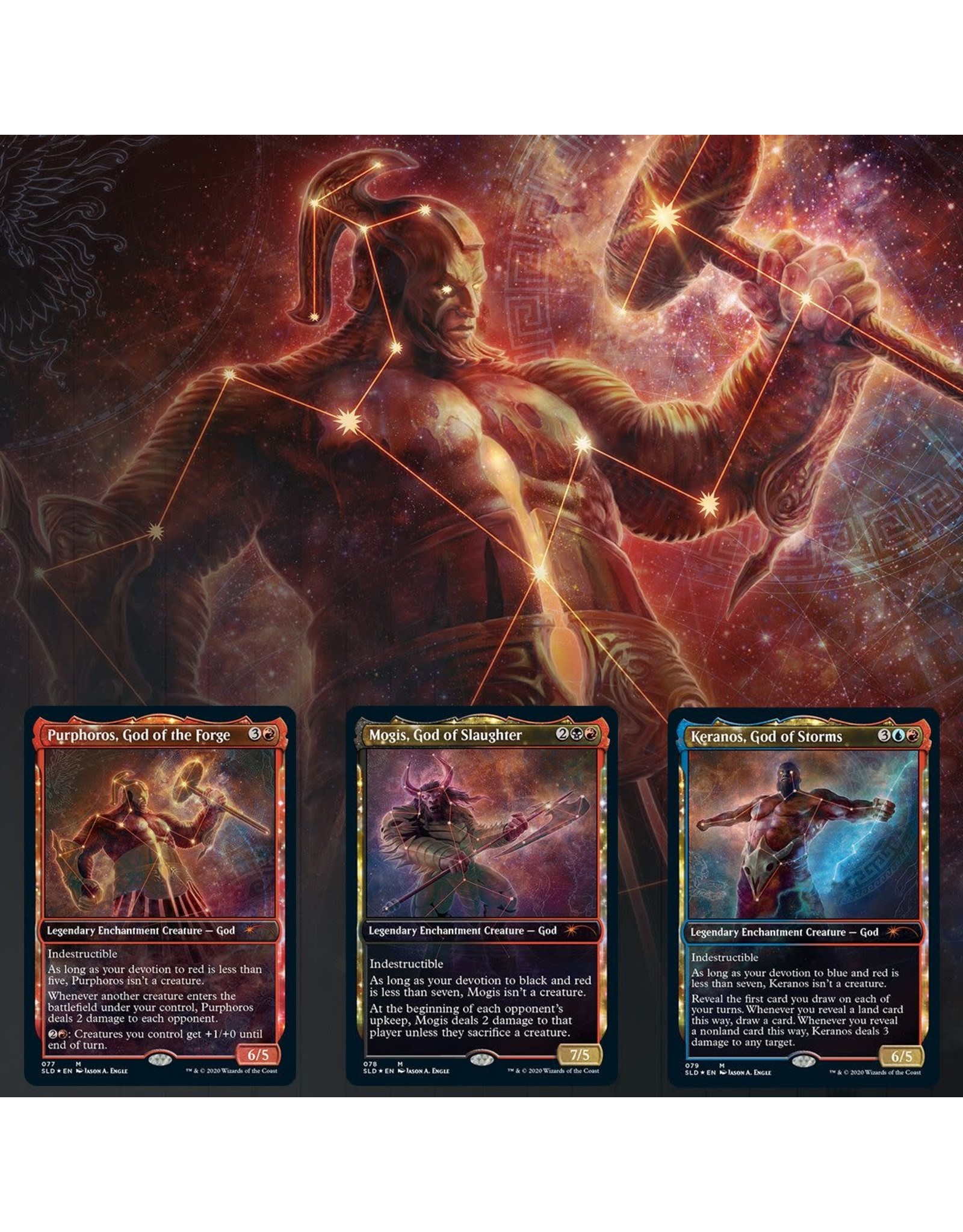 Wizards of the Coast Secret Lair Drop: Theros Stargazing: Vol.IV (Purphoros)