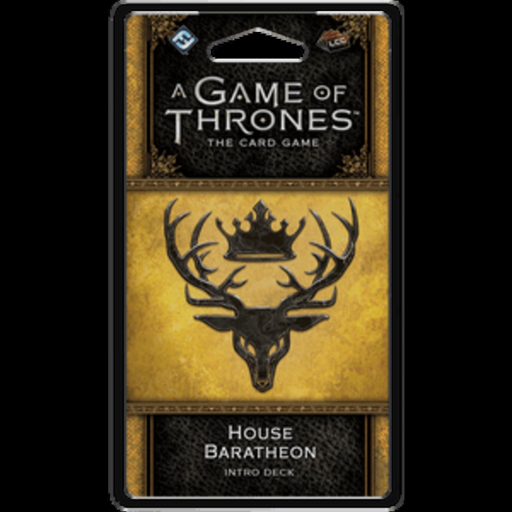Game of Thrones LCG House Baratheon Intro Deck