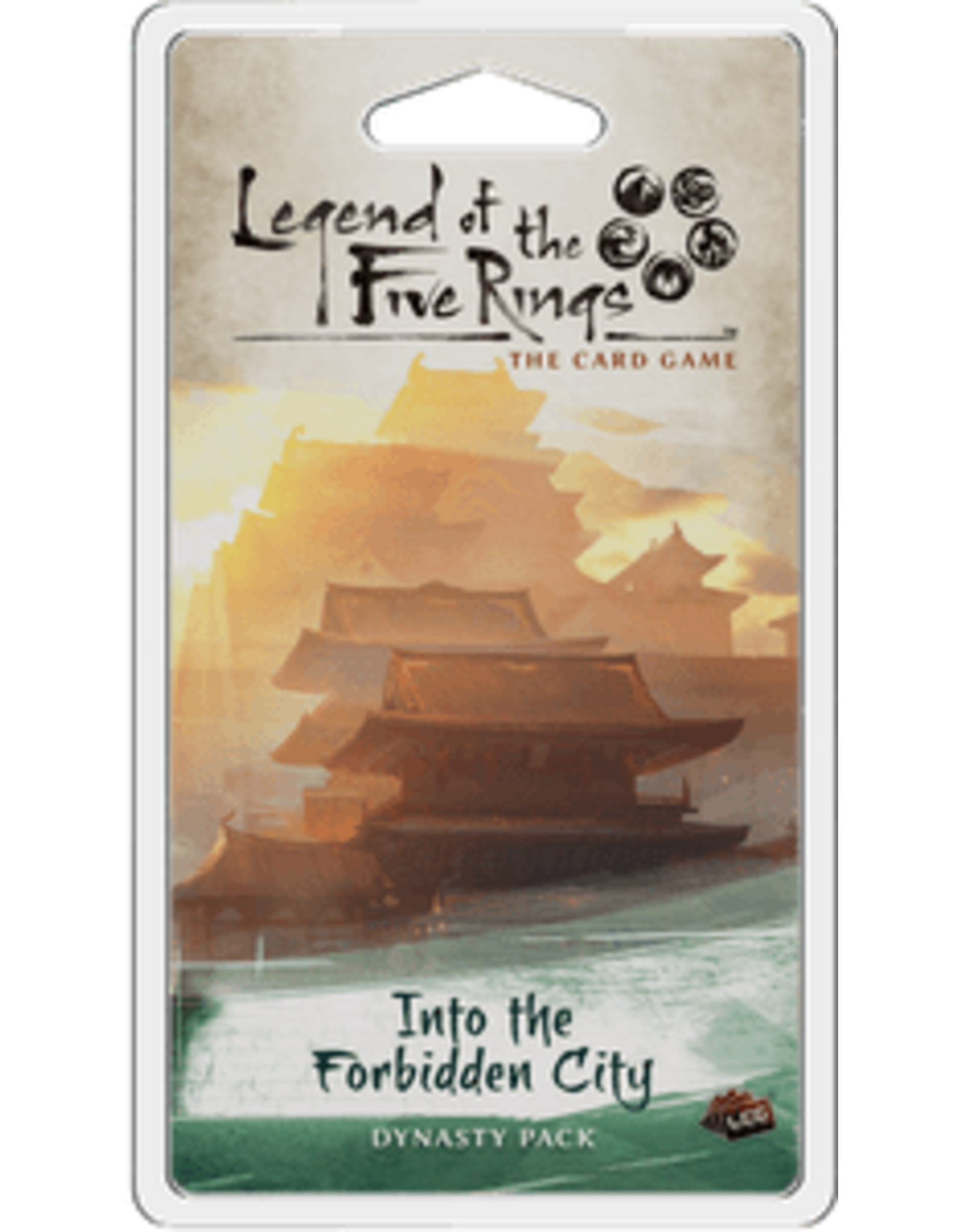 Legend of the Five Rings LCG Into the Forbidden City Dynasty Pack
