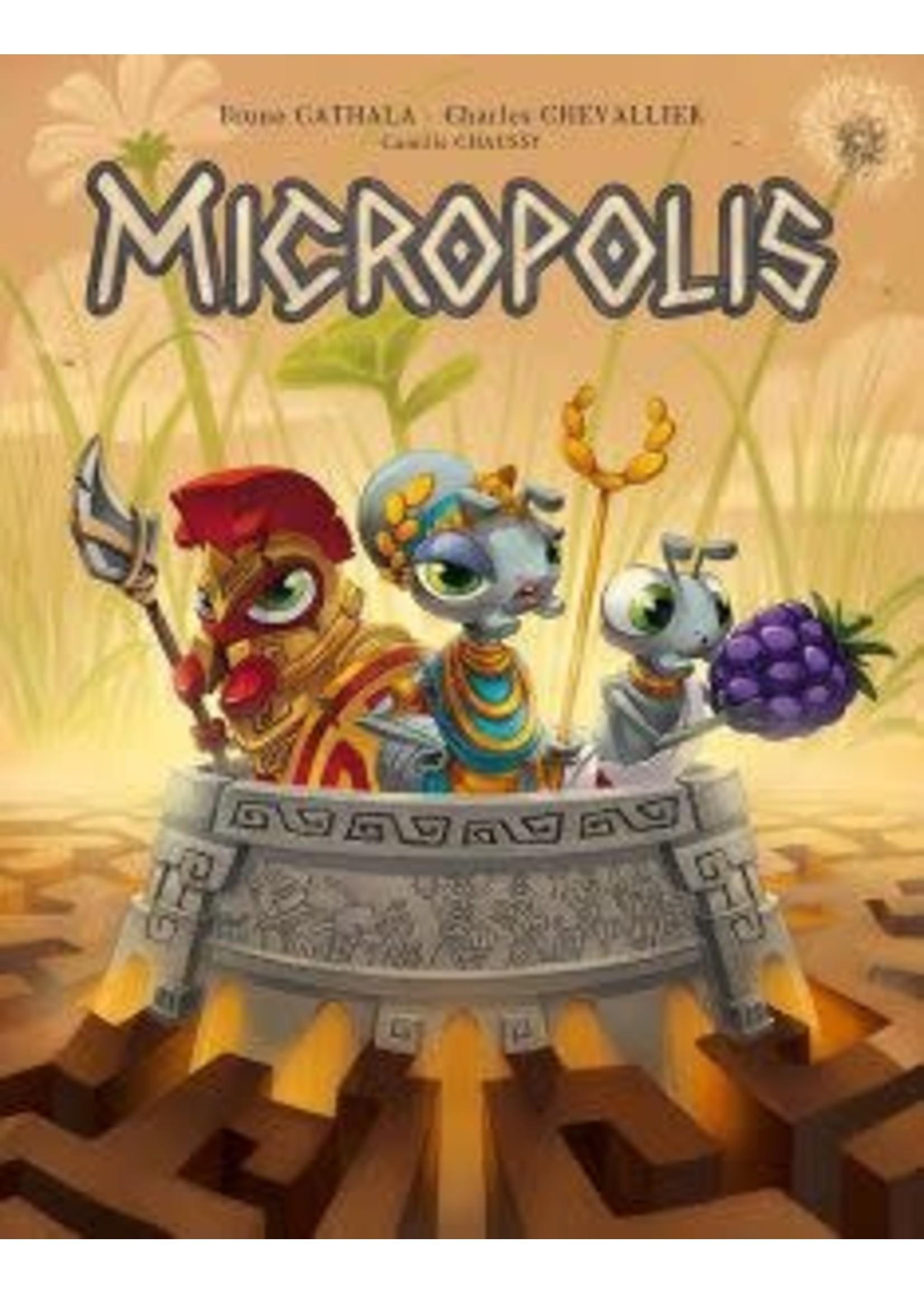 Micropolis Board Game